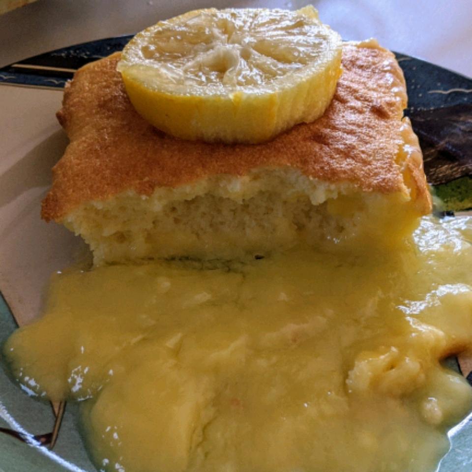 Lemon Pudding Cake I Kimberly Salinas