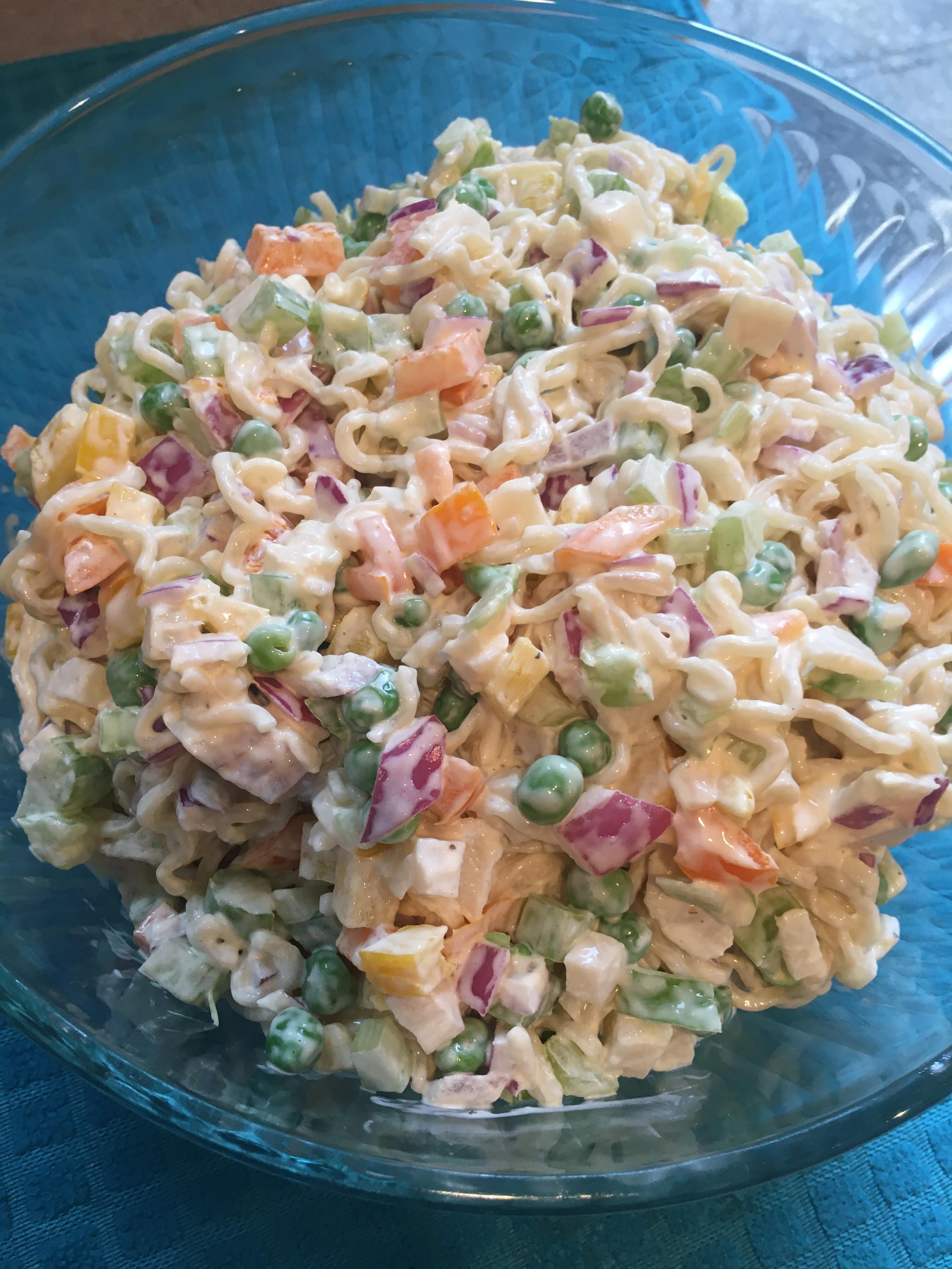 Ramen Noodle Salad KayKaay