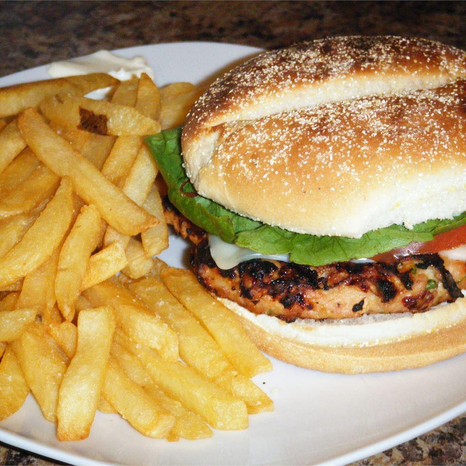 Spicy Chipotle Turkey Burgers kkelly