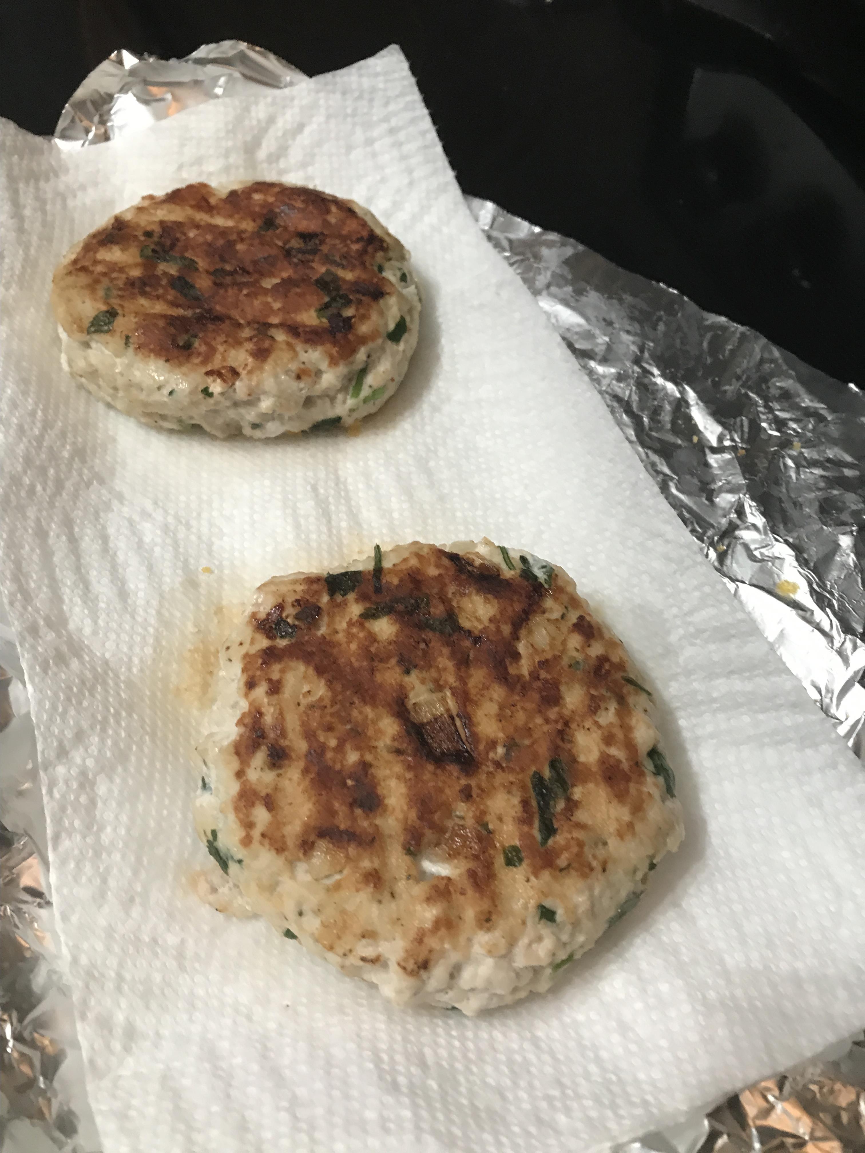 Actually Delicious Turkey Burgers Timothy Green