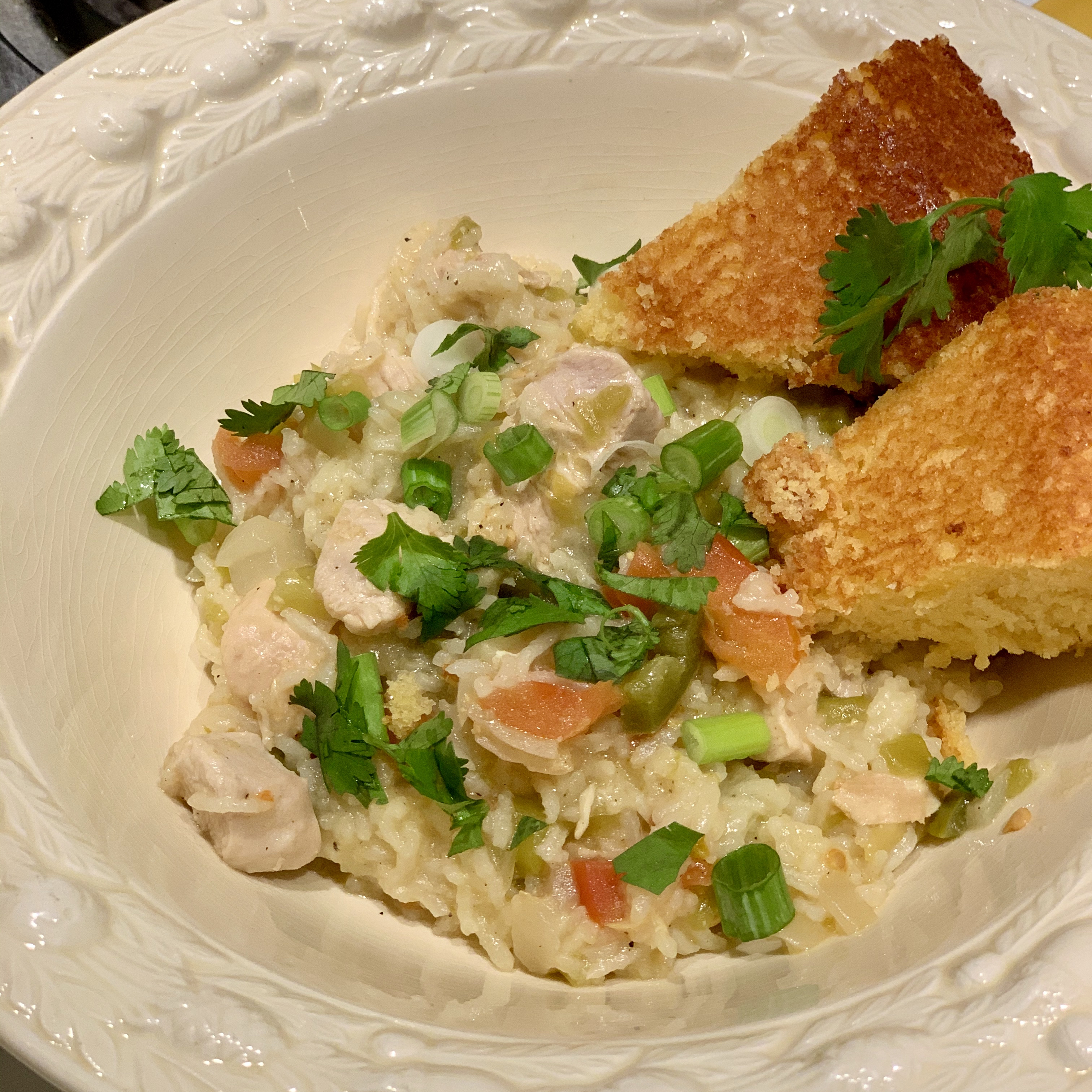 Instant Pot® Green Chili Chicken and Rice Sheryle D. Wells