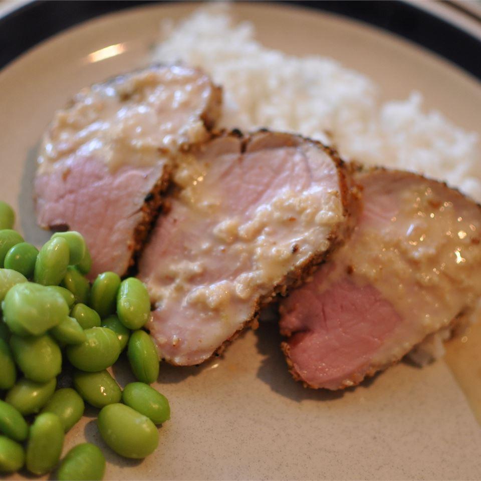 Shichimi-Seared Pork Tenderloin