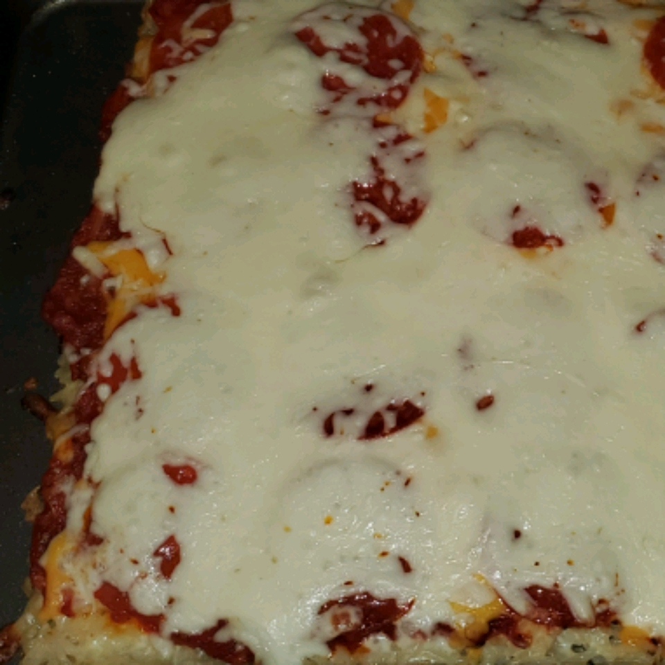 Rice Crust for Pizza