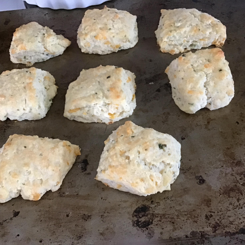 Tender Cheddar Garlic Biscuits Mary Lawson