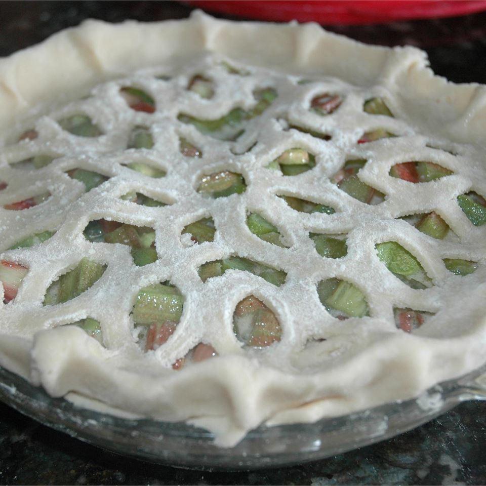 Rhubarb Custard Pie II The Del Sisters