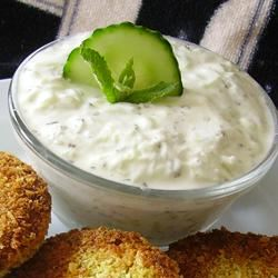 Roasted Garlic Tzatziki