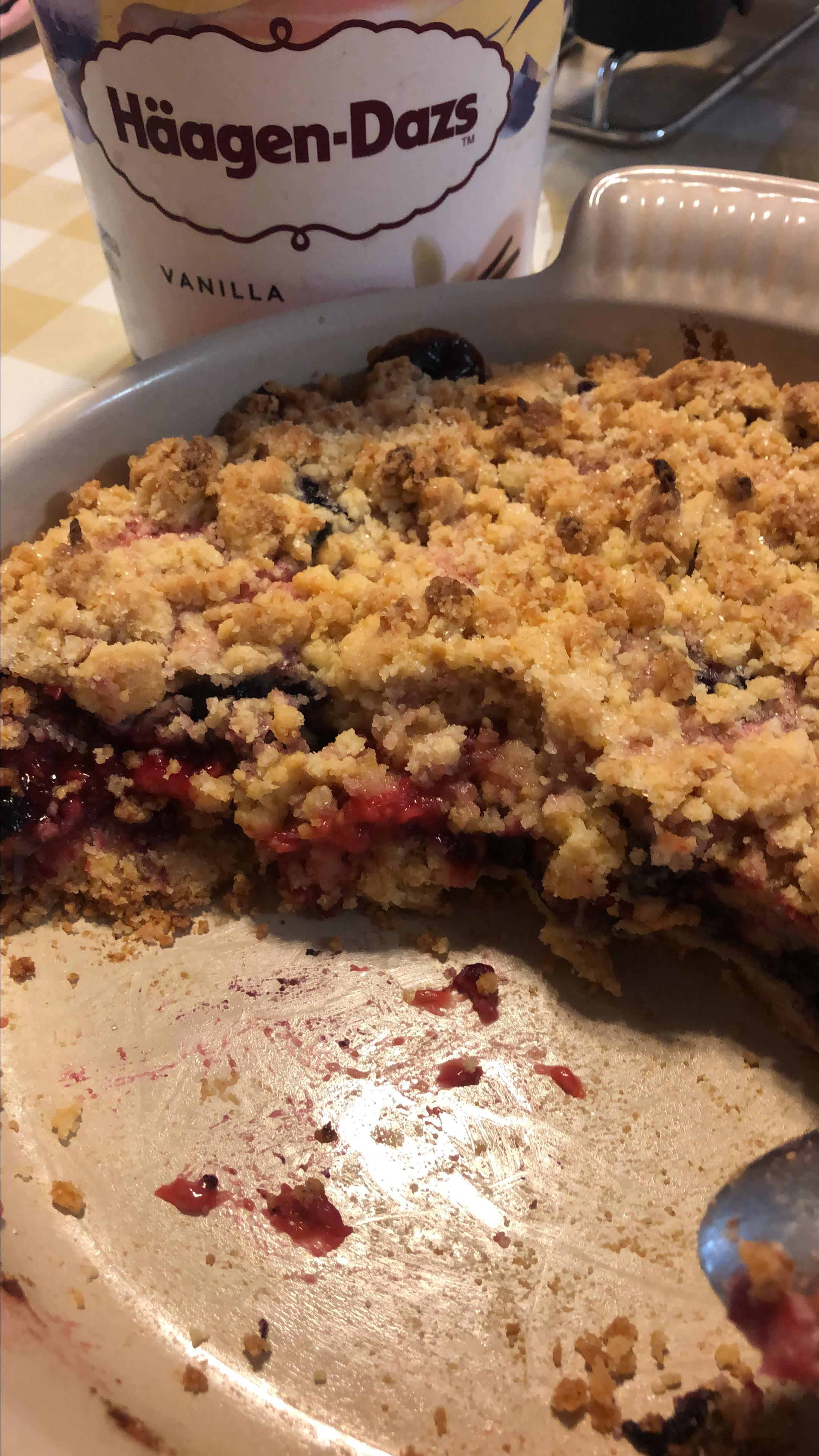 The Ultimate Berry Crumble