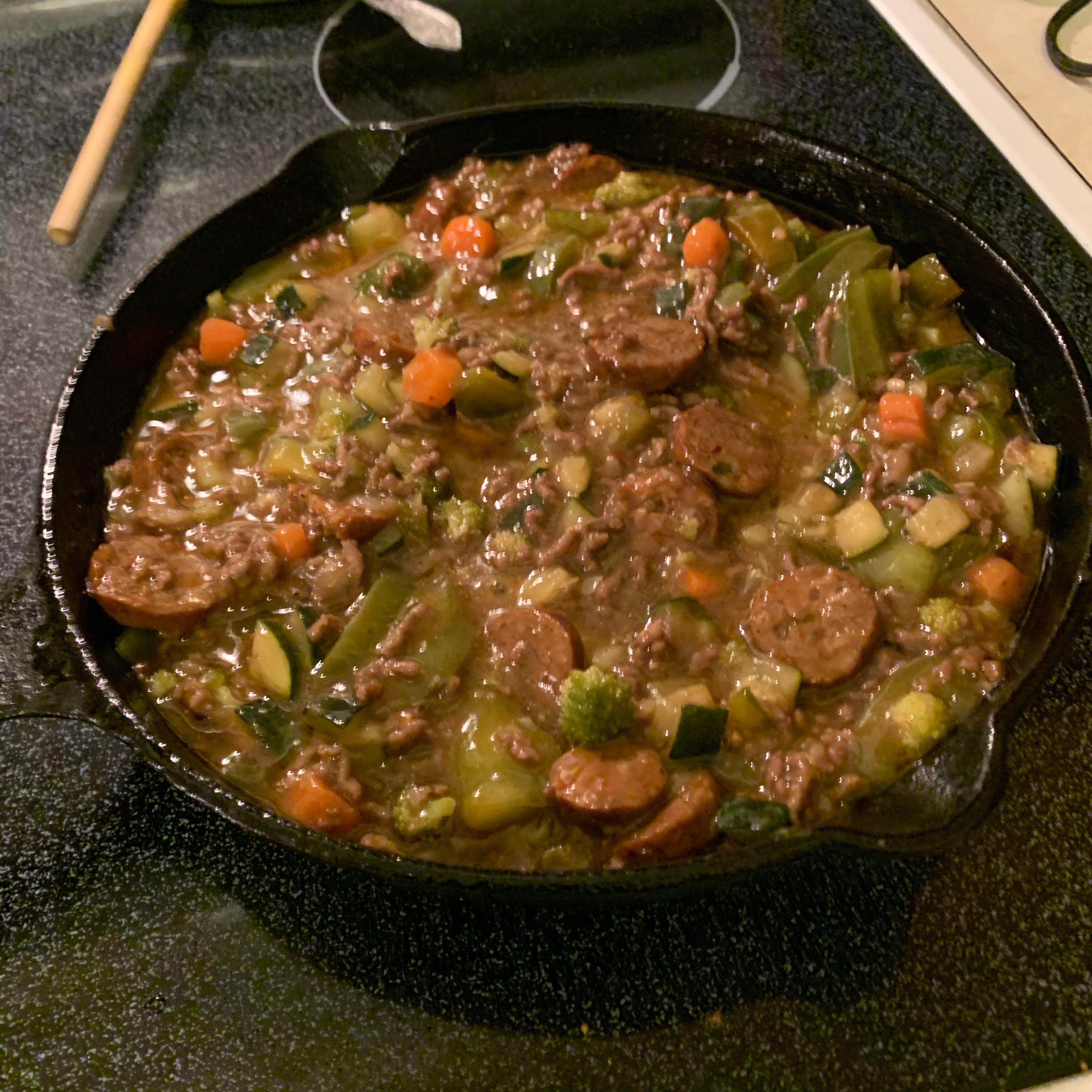 One-Pot Hamburger Adobo Dinner Taz412466