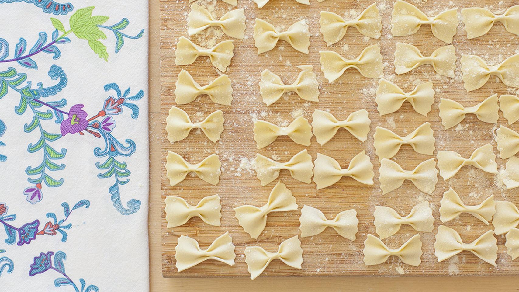 Homemade Farfalle Pasta AllrecipesPhoto