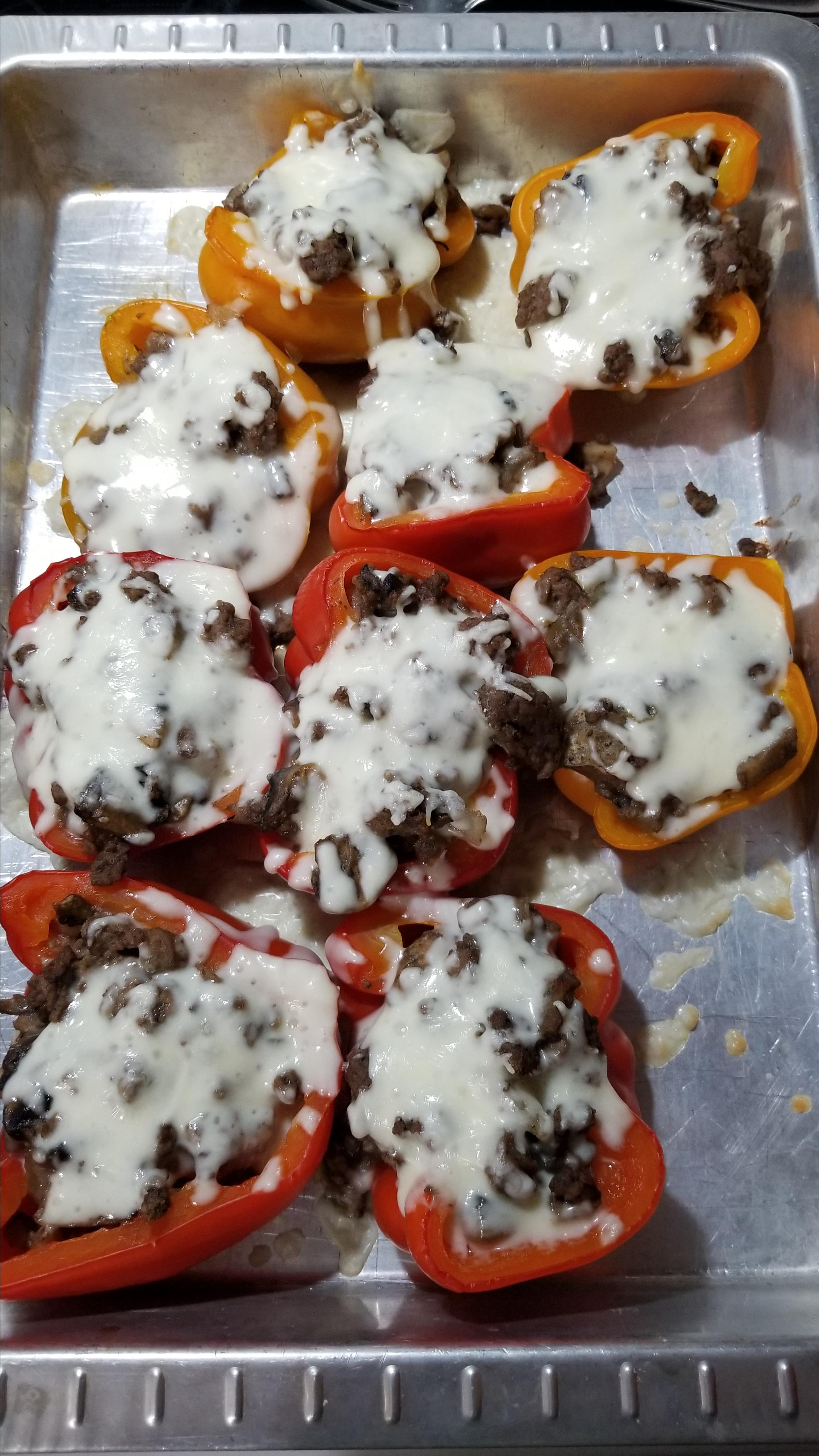 Beef and Mushroom Stuffed Peppers Ang