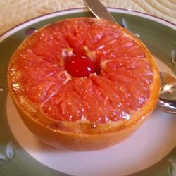 Simple Broiled Grapefruit ~TxCin~ILove2Ck