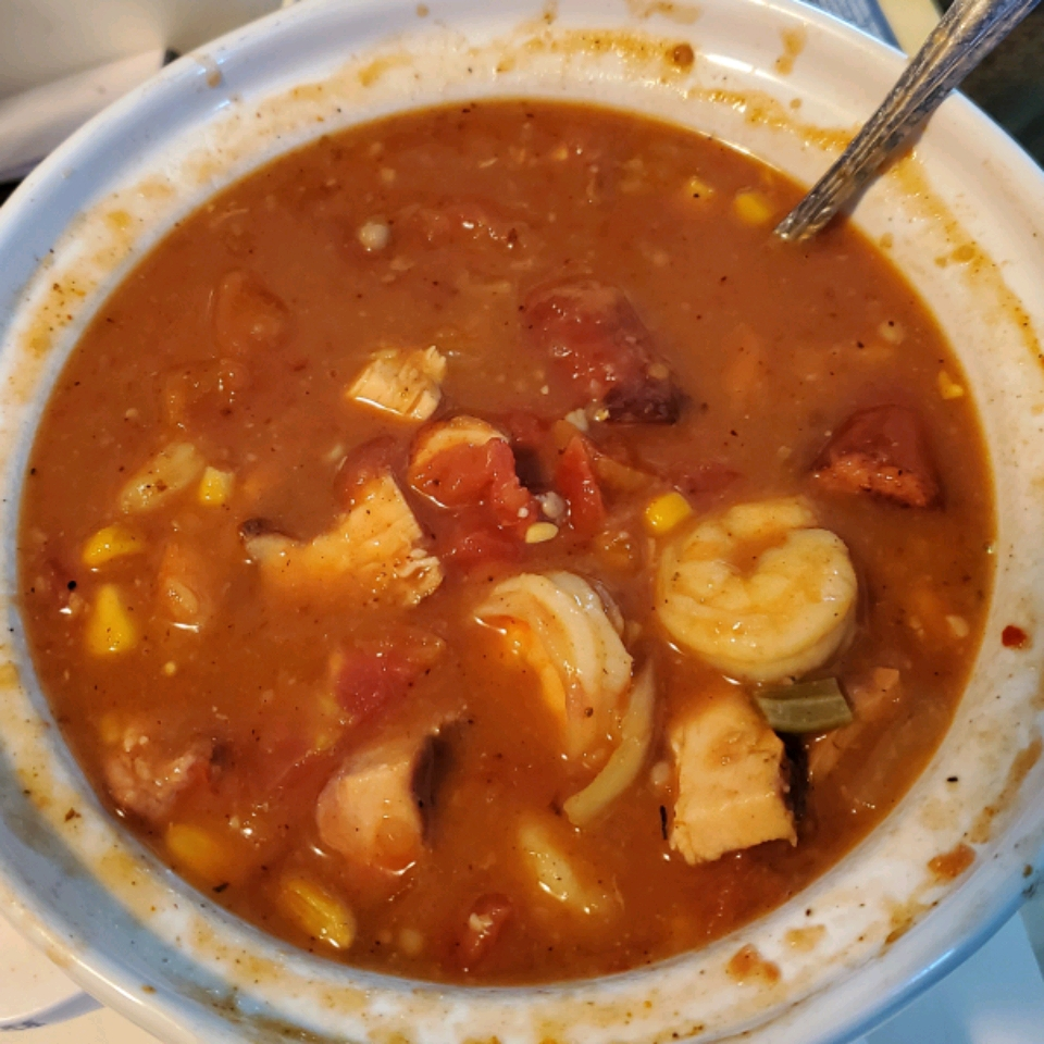 Chef John's Duck, Sausage, and Shrimp Gumbo