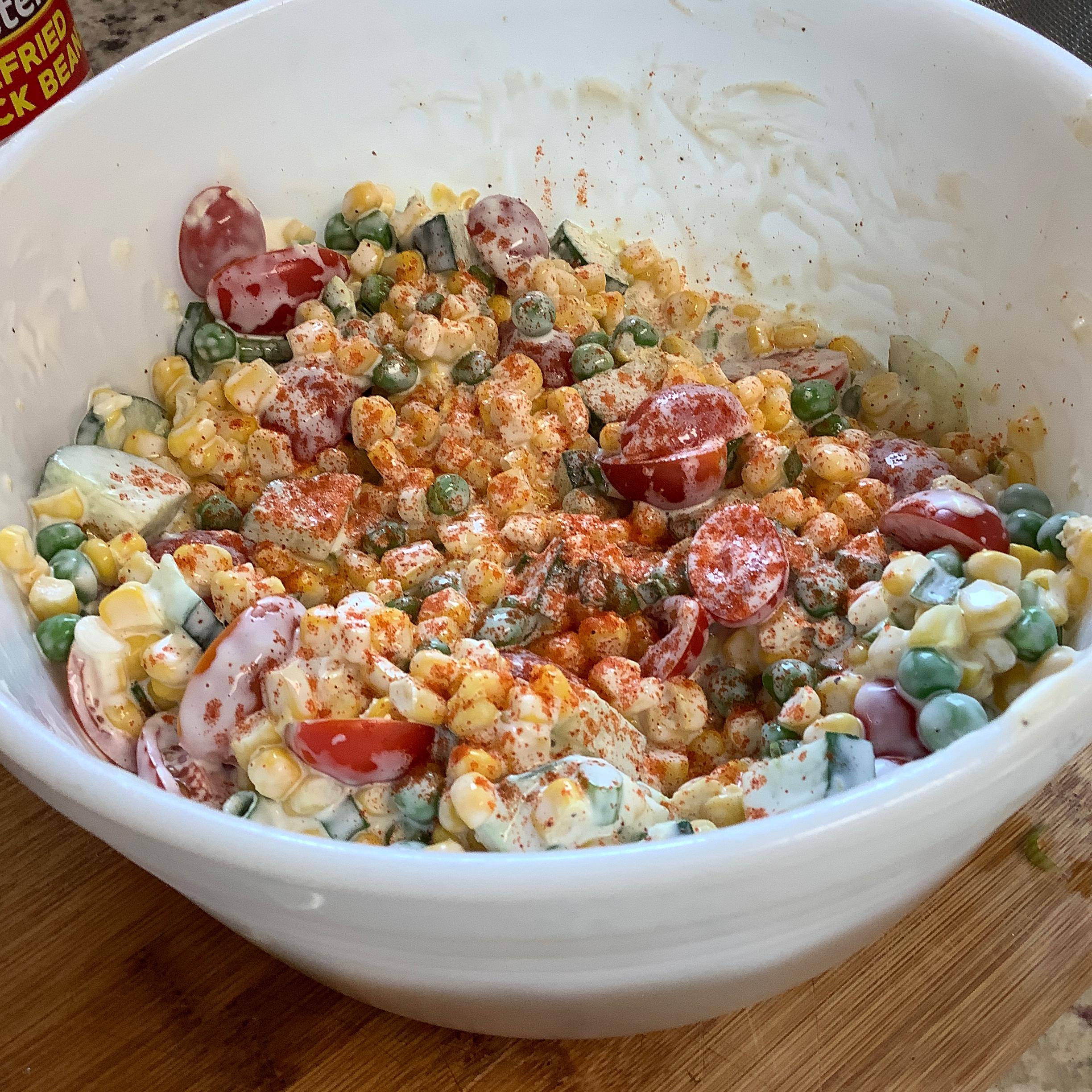 Kim's Summer Corn Salad randy mattox