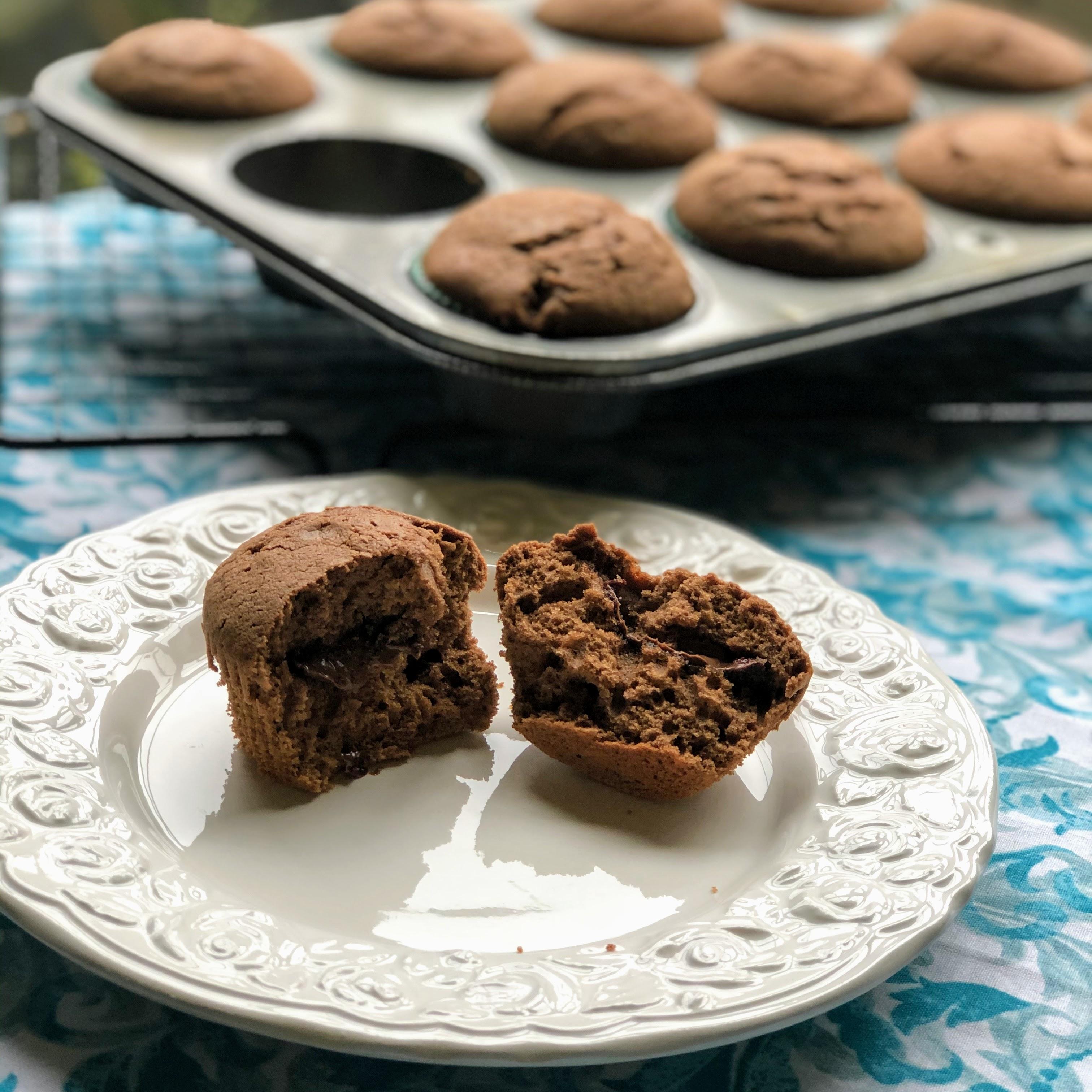 Nutella®-Stuffed Mocha Muffins