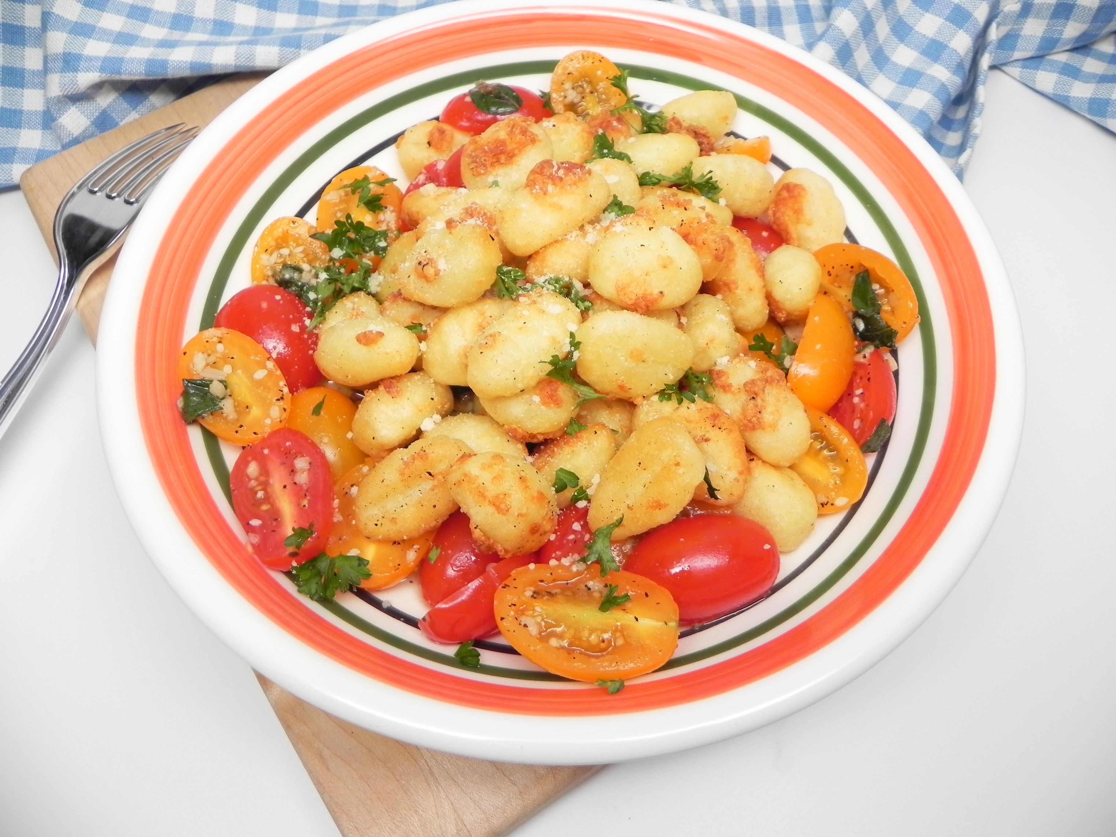 Air-Fried Gnocchi