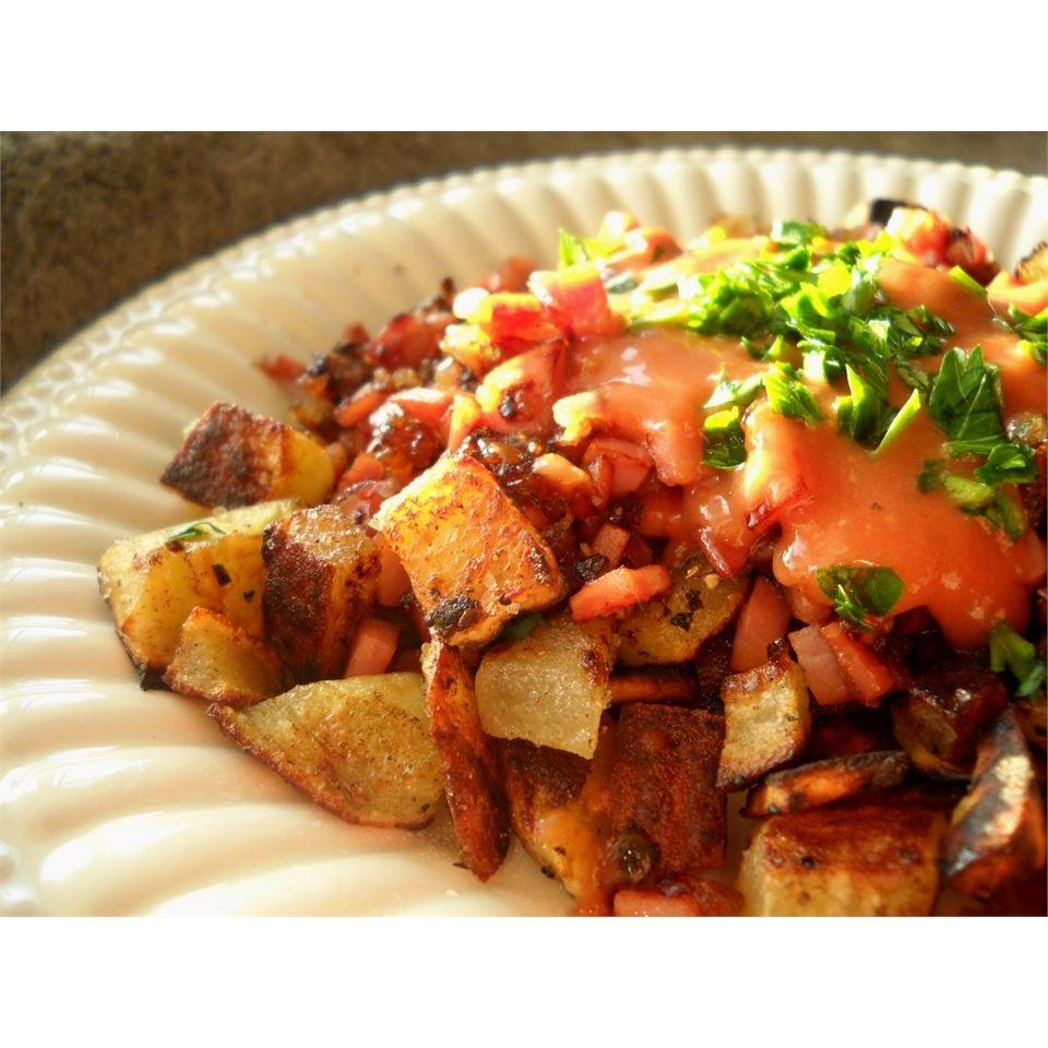 Ham Hash With Sweet Potatoes & Thyme Linda T