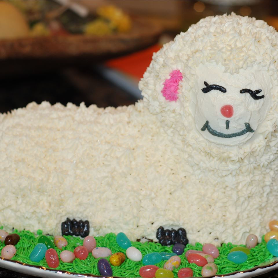Easter Lamb Cake II