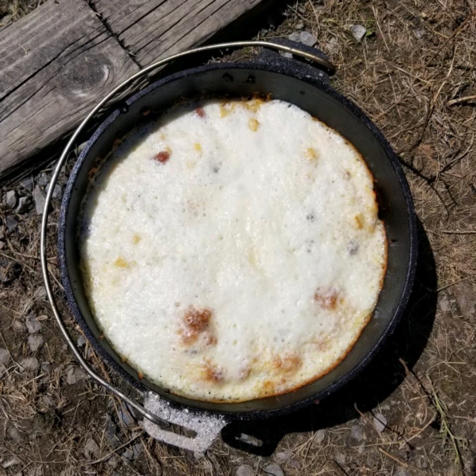 Dutch Oven Mountain Man Breakfast Jeff McDonald