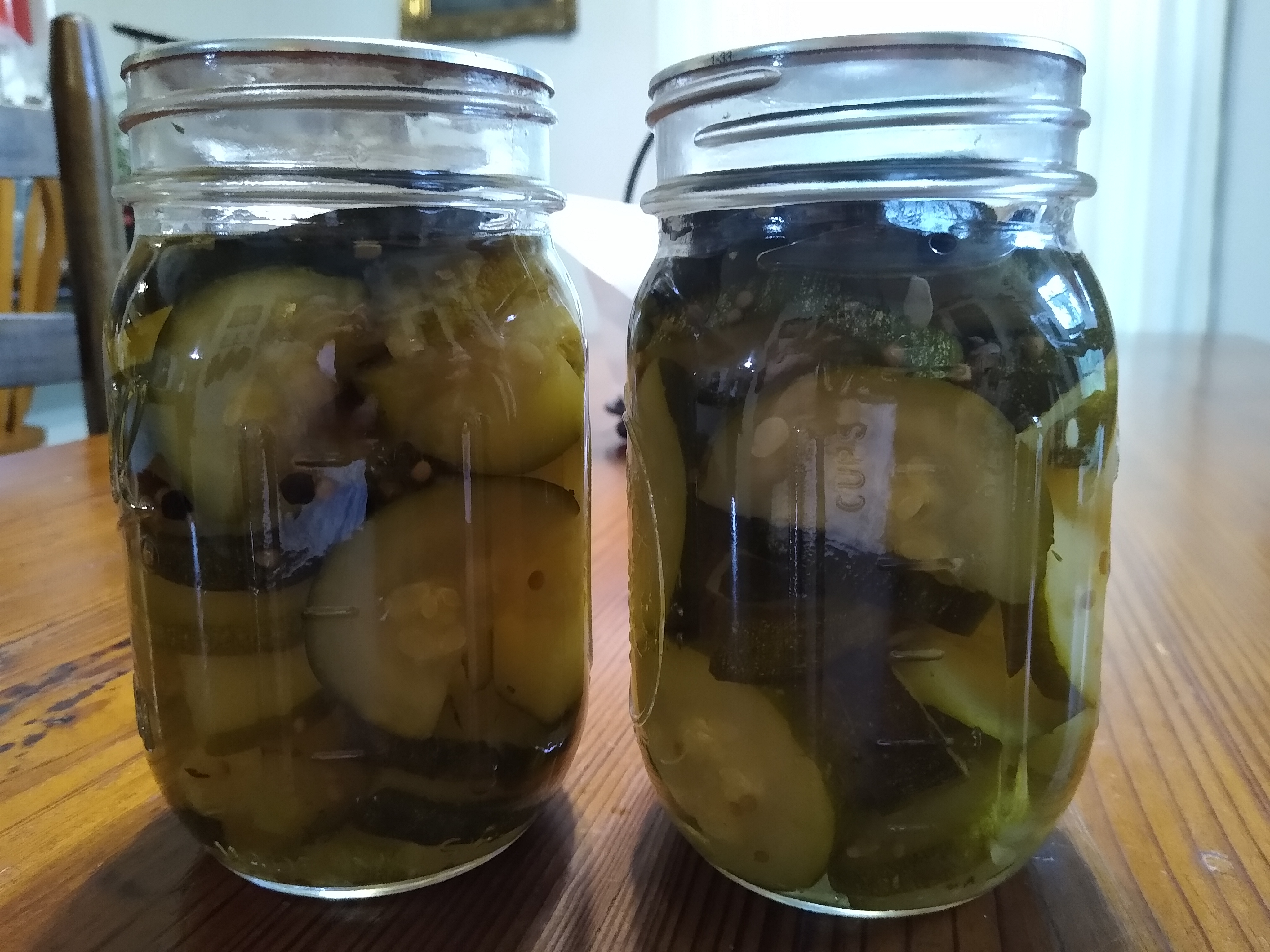 Sweet Chunk Zucchini Pickles Claire Cottrell
