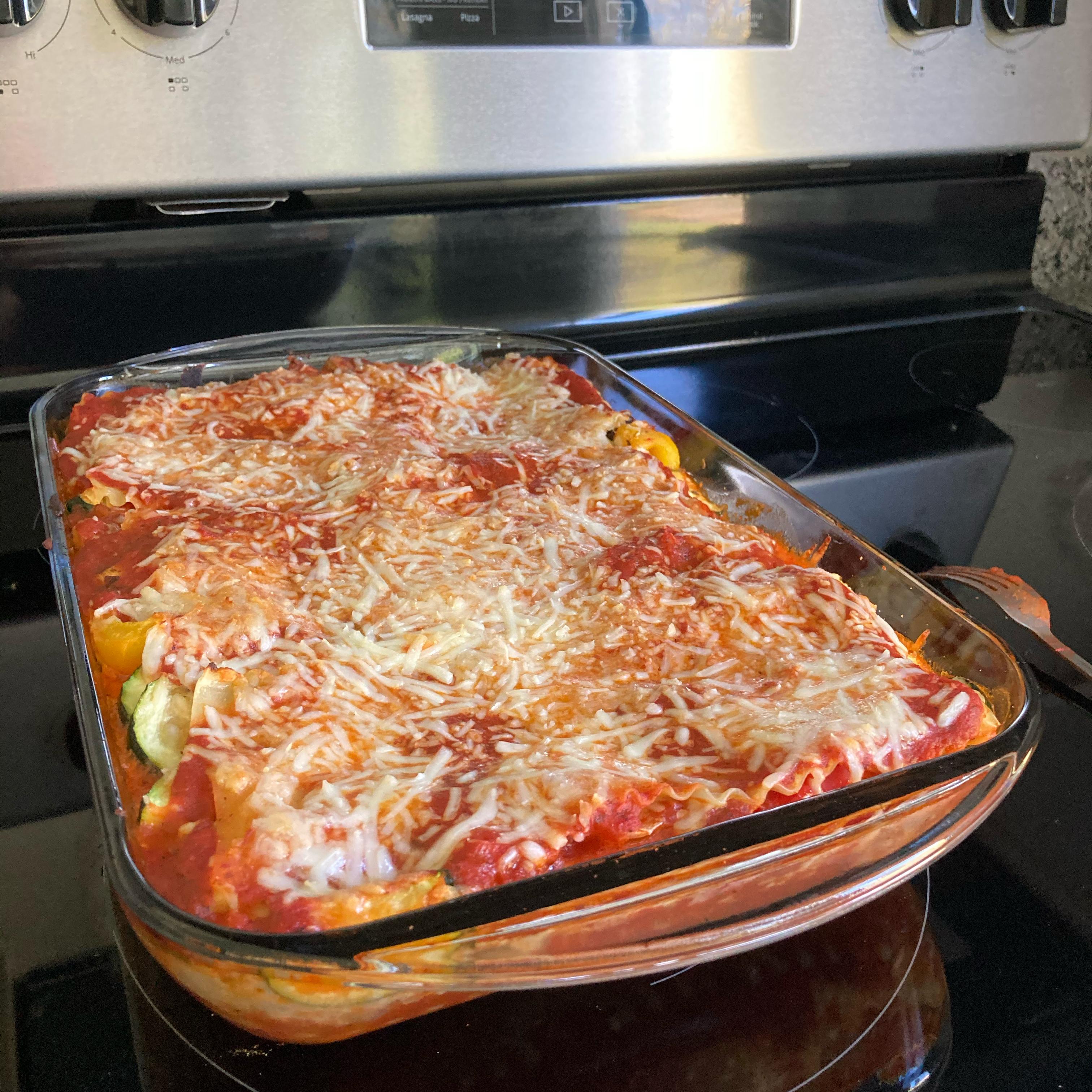 Easy Roasted Vegetable Lasagna jesta81