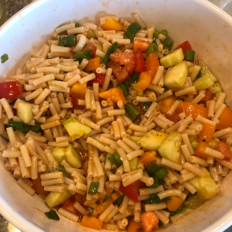 Marinated Macaroni Salad LoHawk