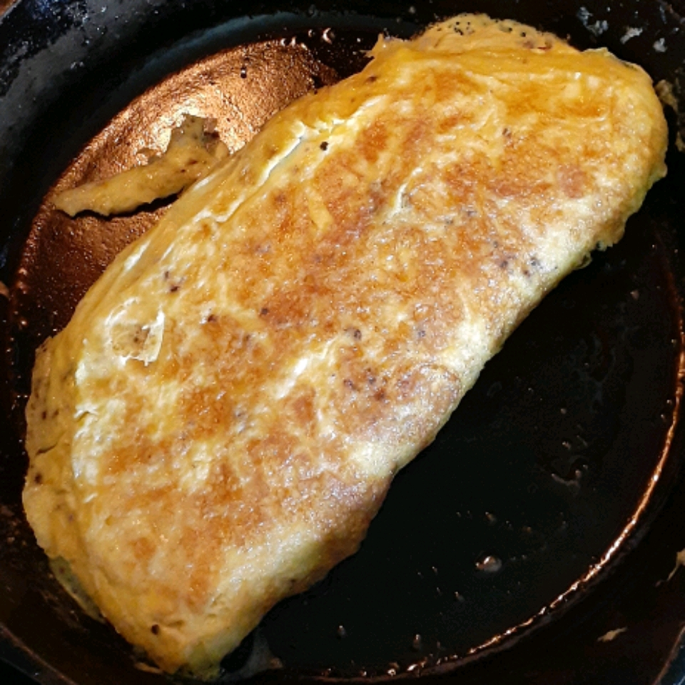 Ham Omelette with Maille® Old Style Mustard Kaden Threet