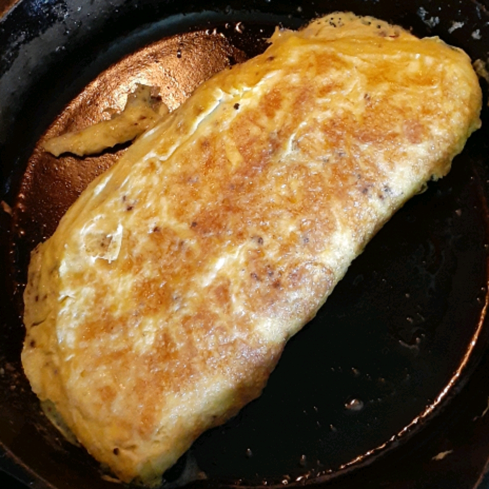 Ham Omelette with Maille® Old Style Mustard