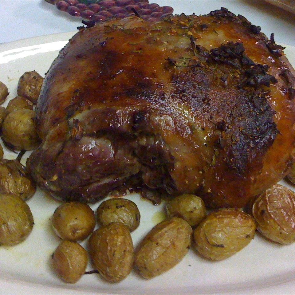 Roast Leg of Lamb with Rosemary Italian Mommy