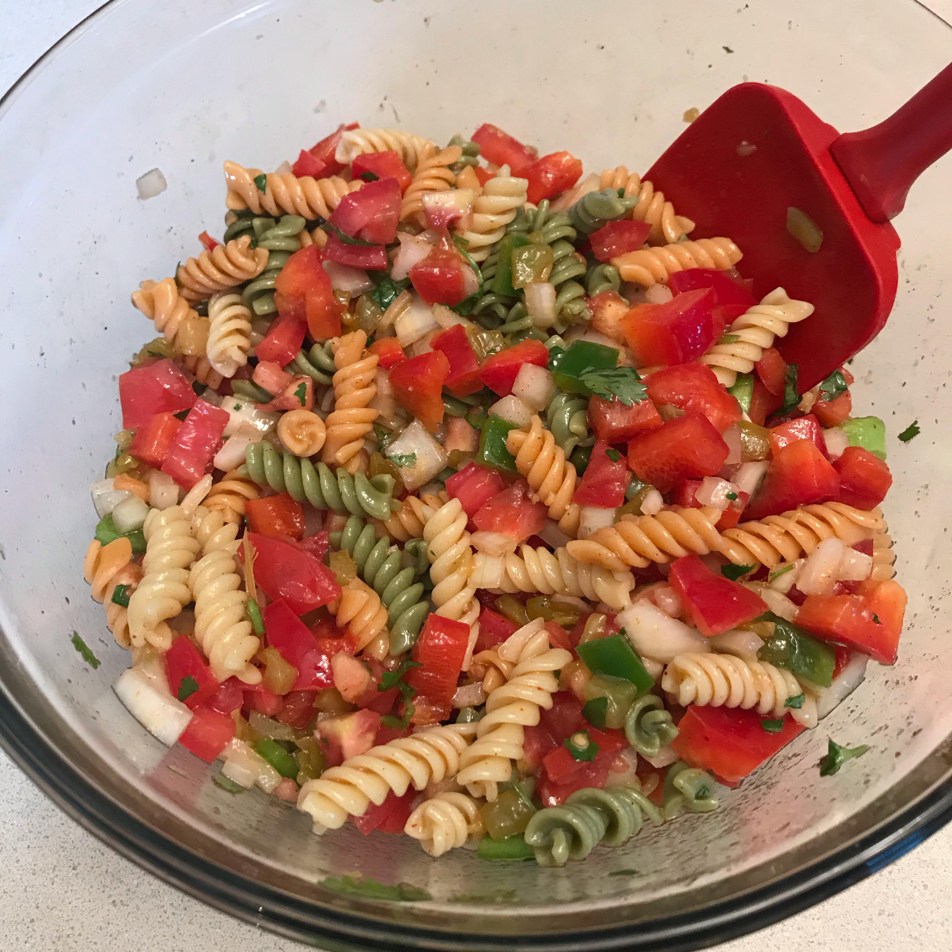 Salsa Pasta Salad Becca