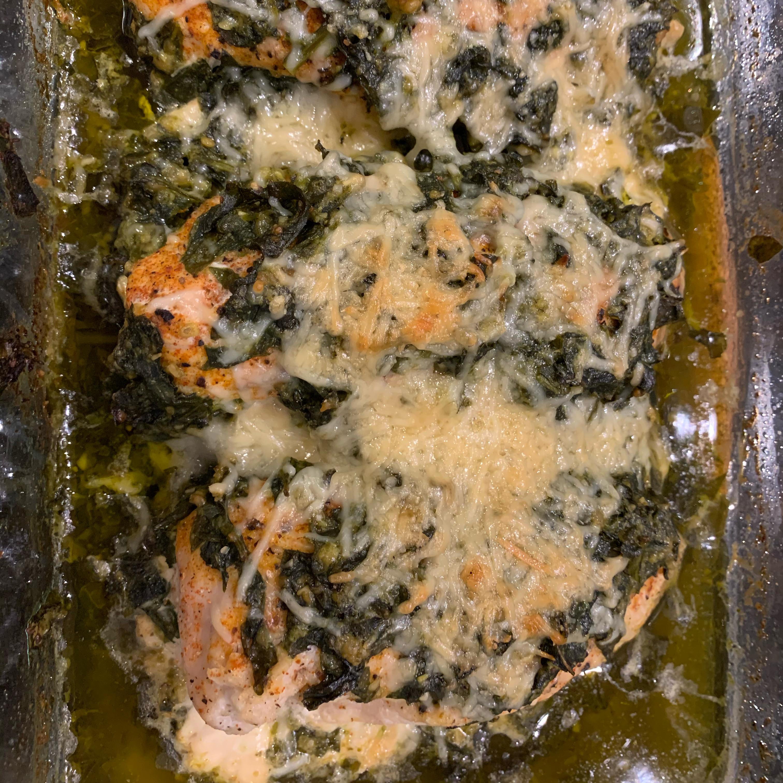 Spinach Pesto Chicken Breasts