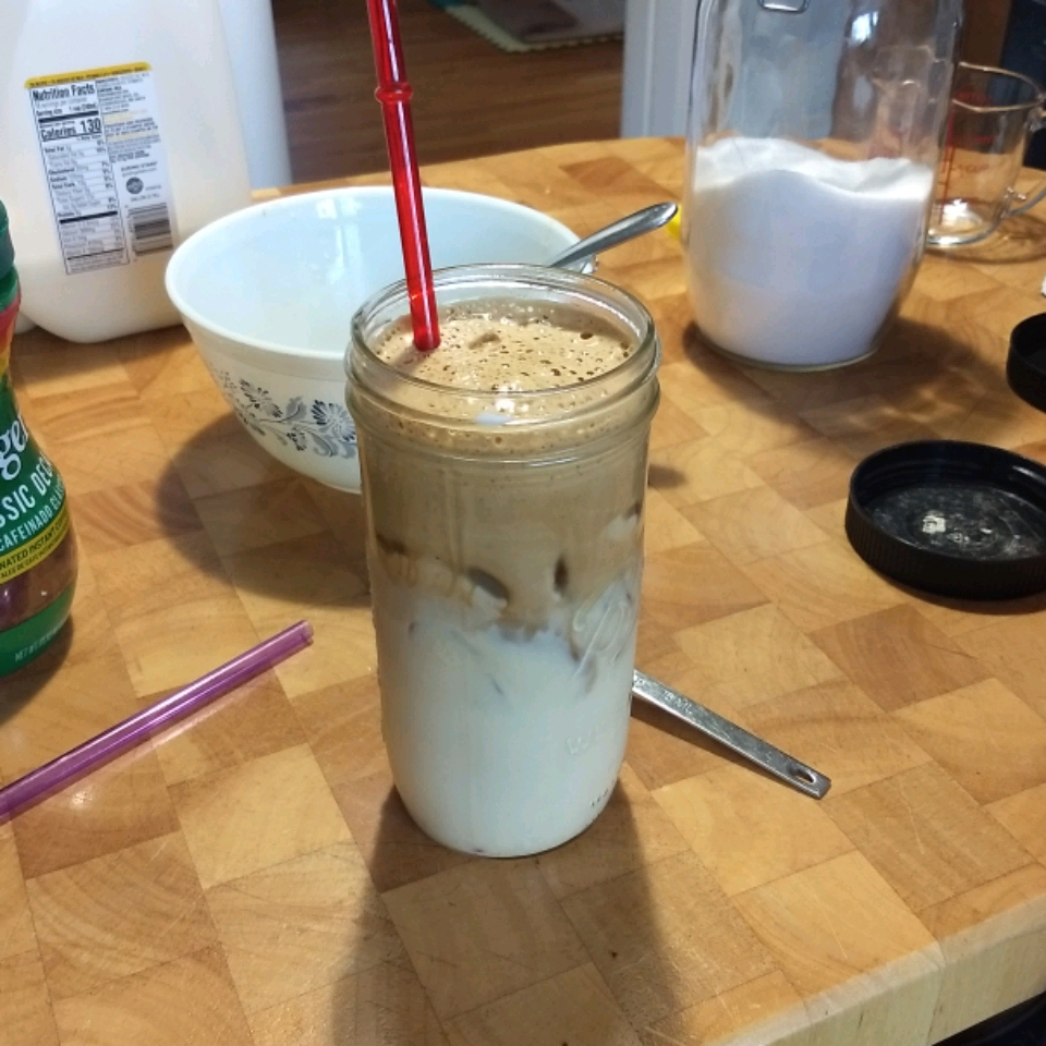 Whipped Peanut Butter Iced Coffee Rendell  Russell