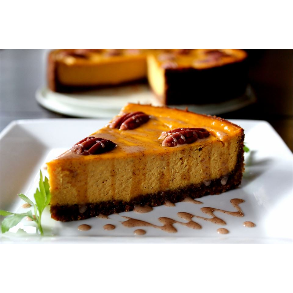Carrot Cheesecake with Crumb Crust Melissa Goff
