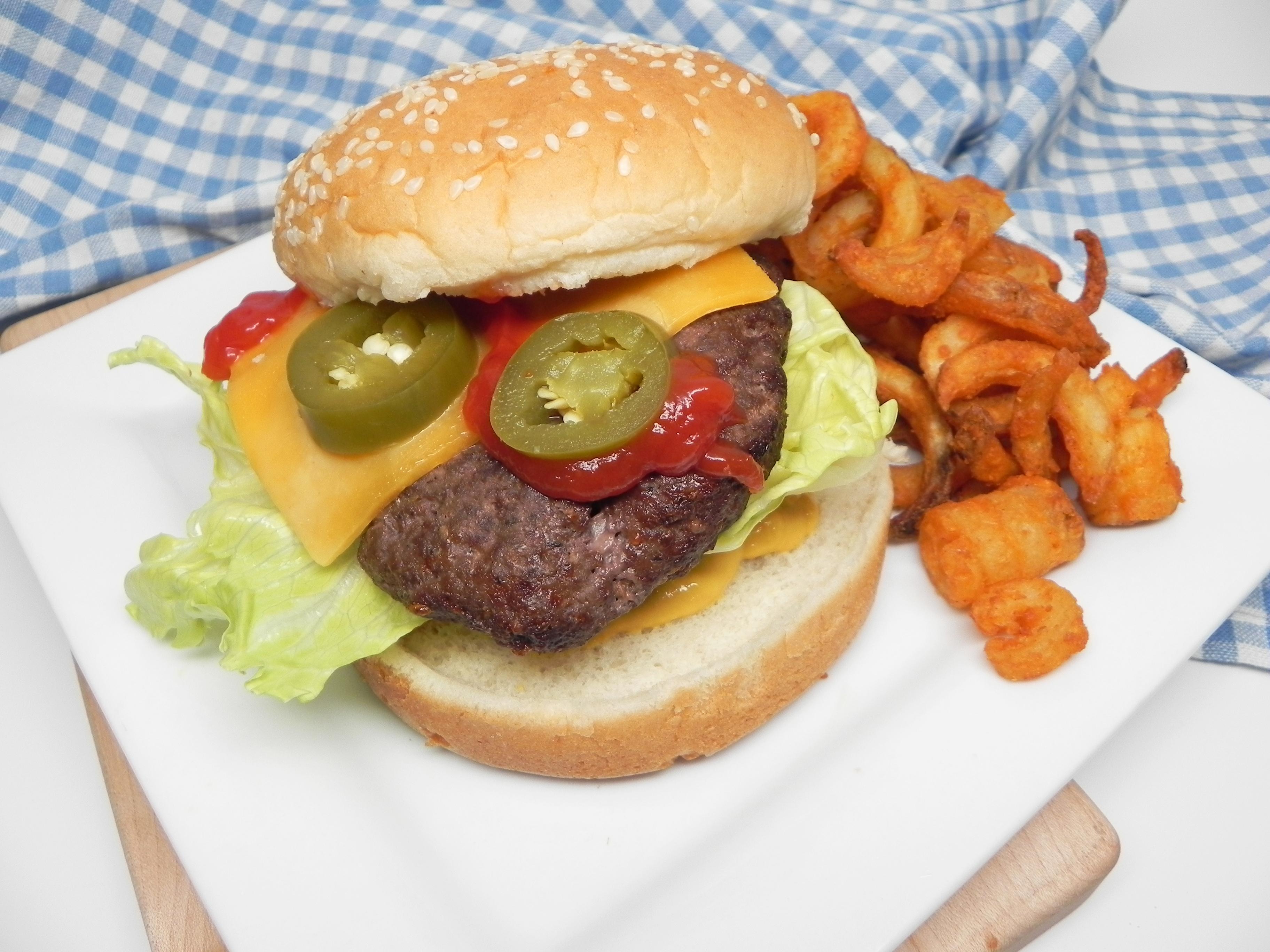 Air Fryer Venison Burgers