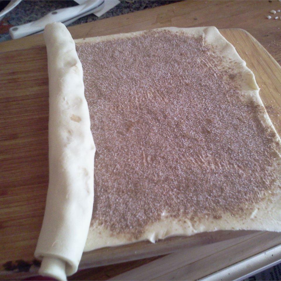 Puff Pastry Cinnamon Rolls Patty Cakes