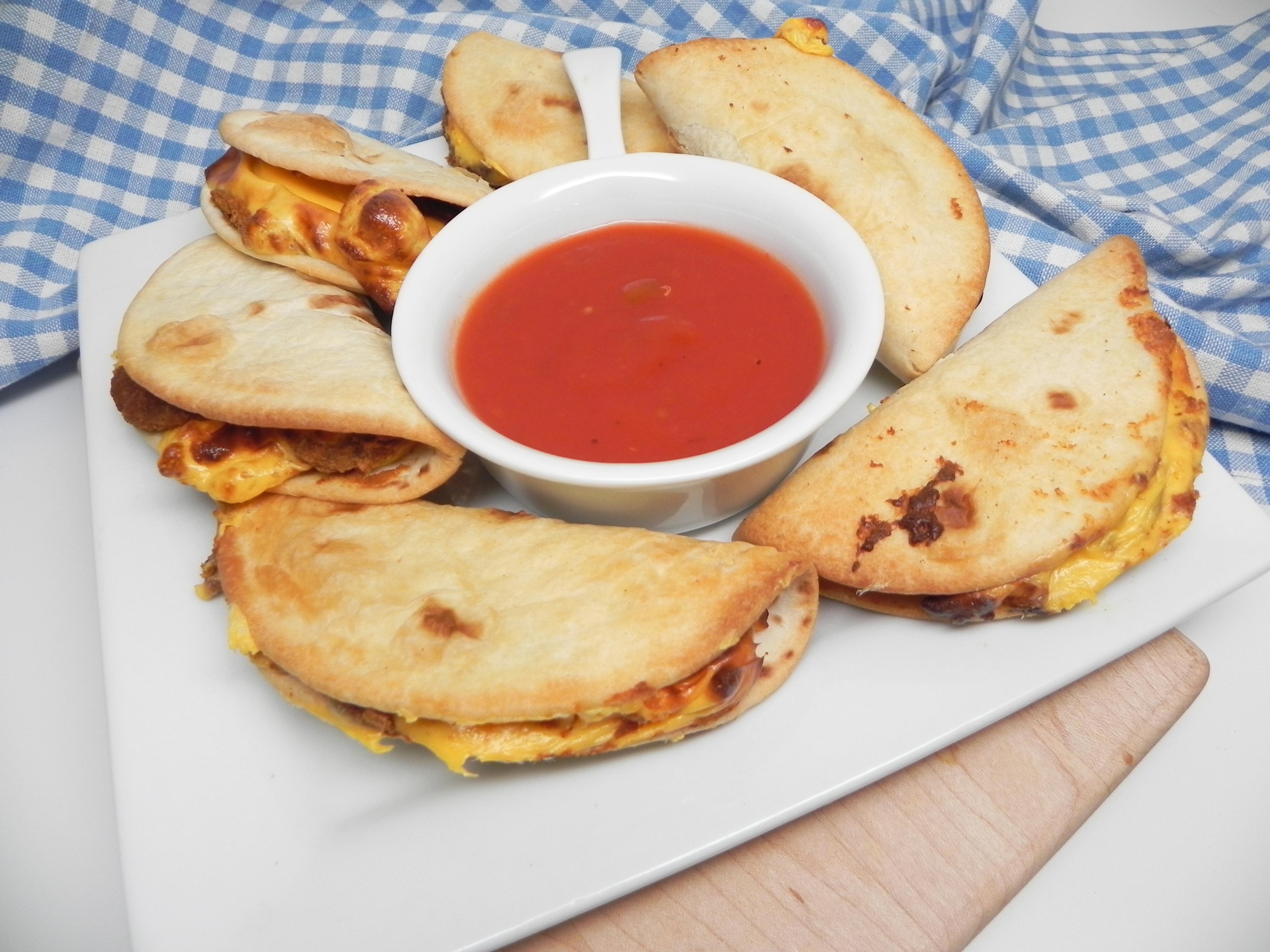Air Fryer Mini Bean and Cheese Tacos