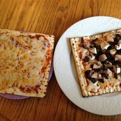 Kid's Favorite Passover Pizza Randy Finger