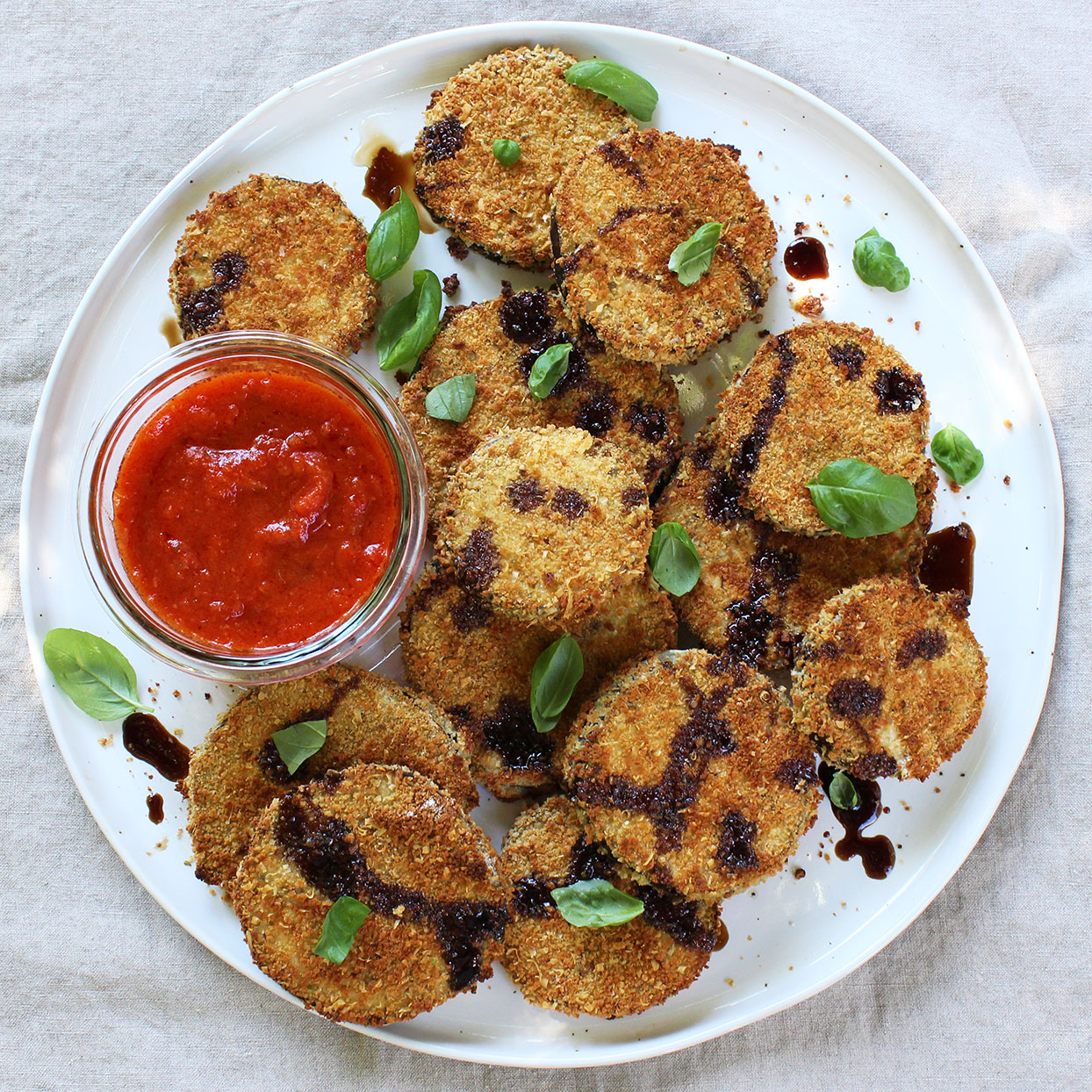Baked Breaded Eggplant Allrecipes Trusted Brands