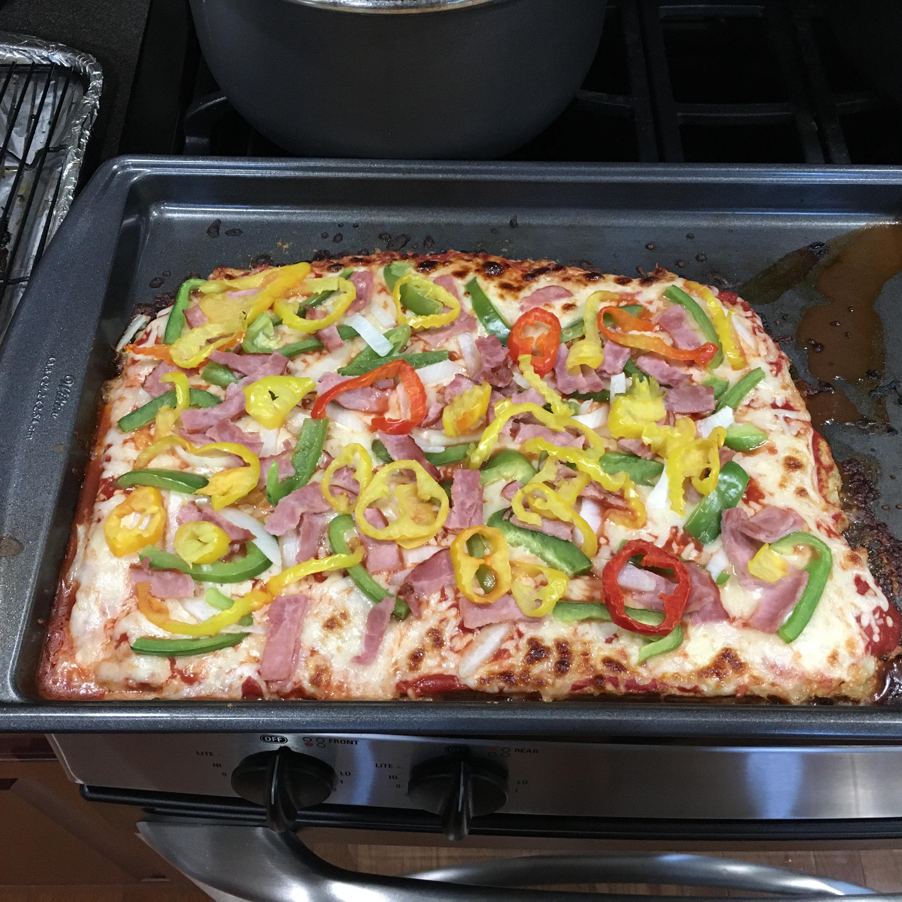 Pepperoni Meatza