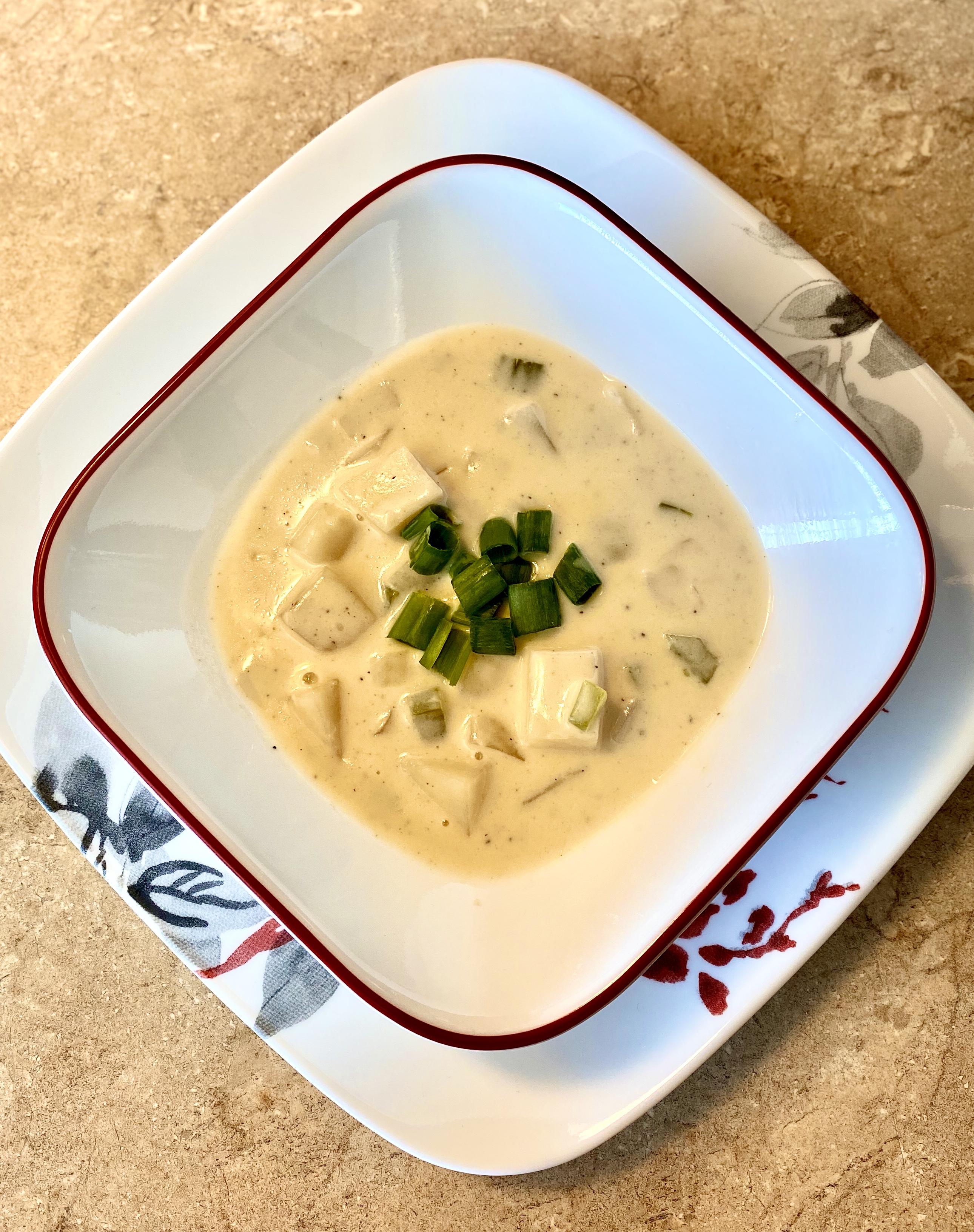Slow Cooker Potato Soup with Heavy Cream
