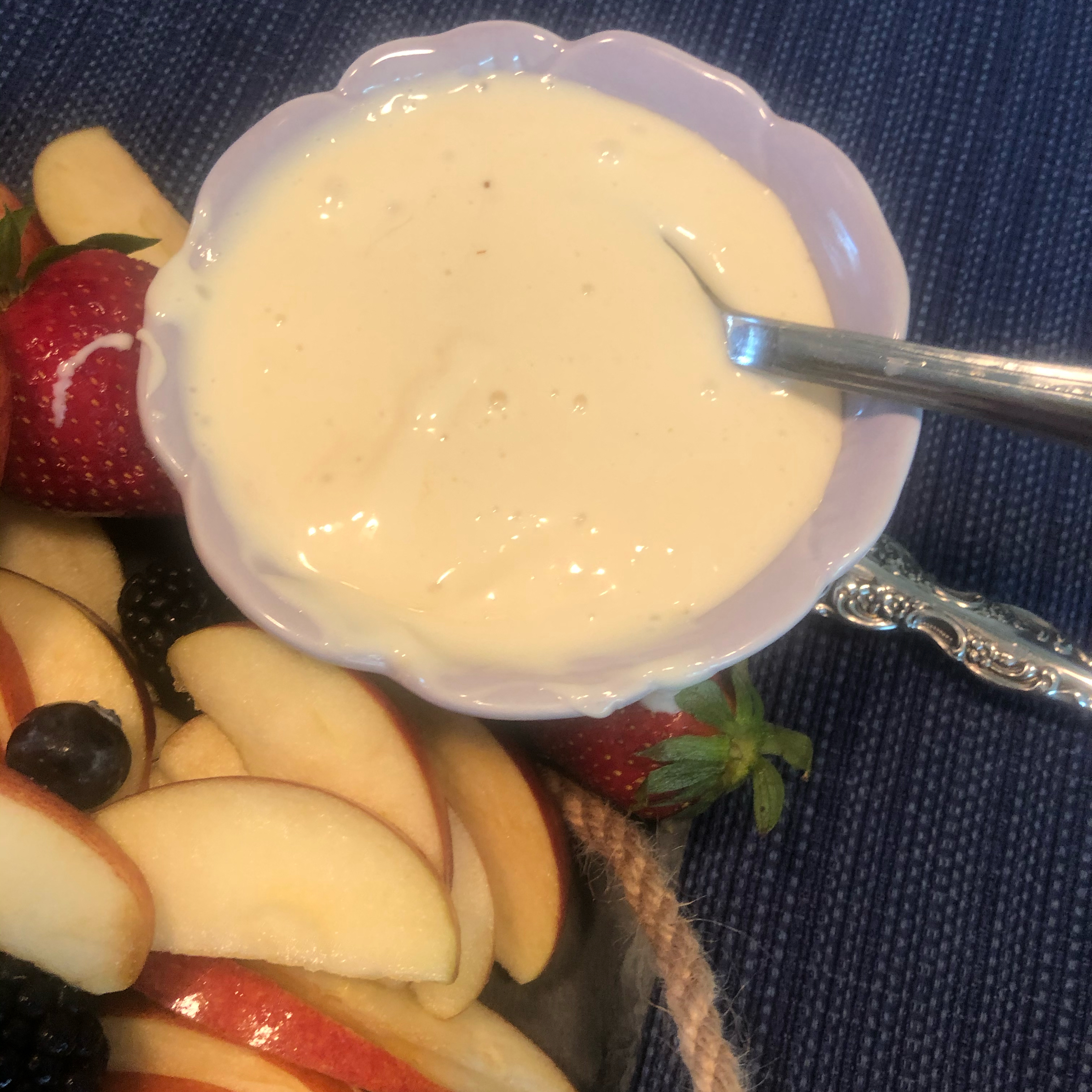 Unbelievably Good Fruit Dip Jennifer Coffey