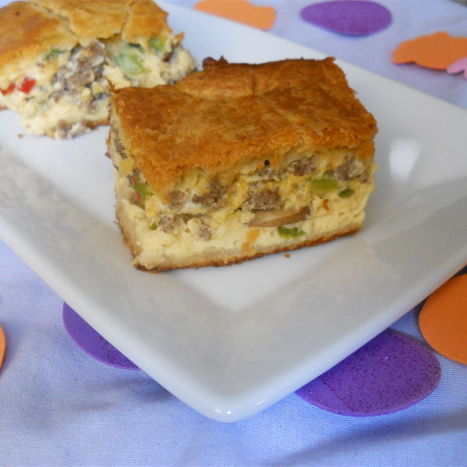 K-Dub's Sausage and Egg Casserole