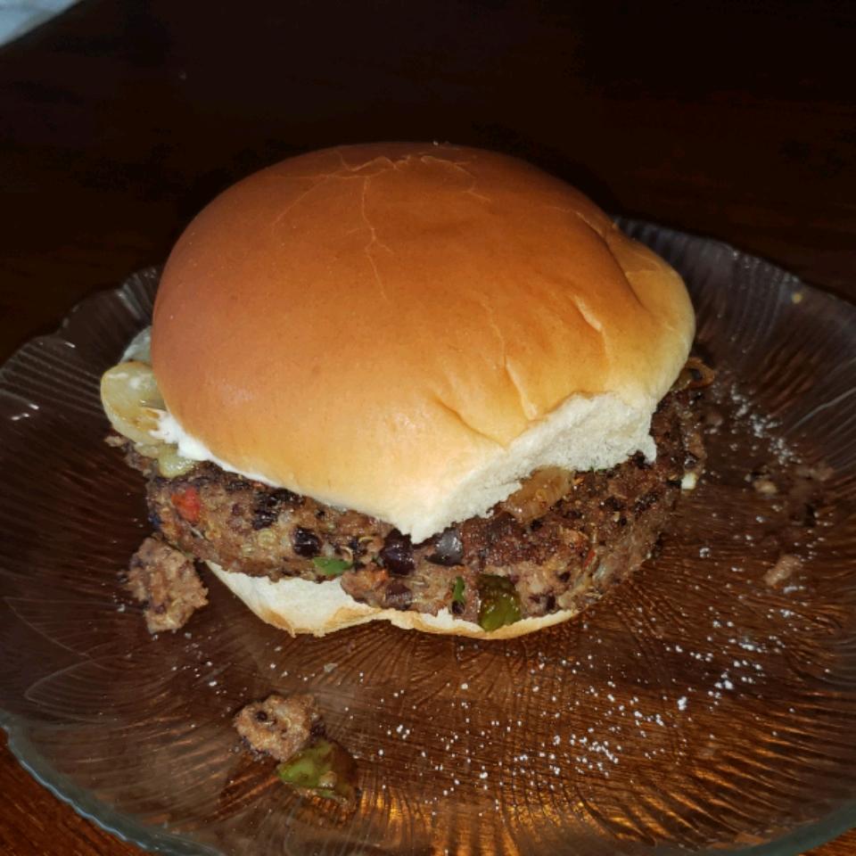 Quinoa Black Bean Burgers RustyShelby