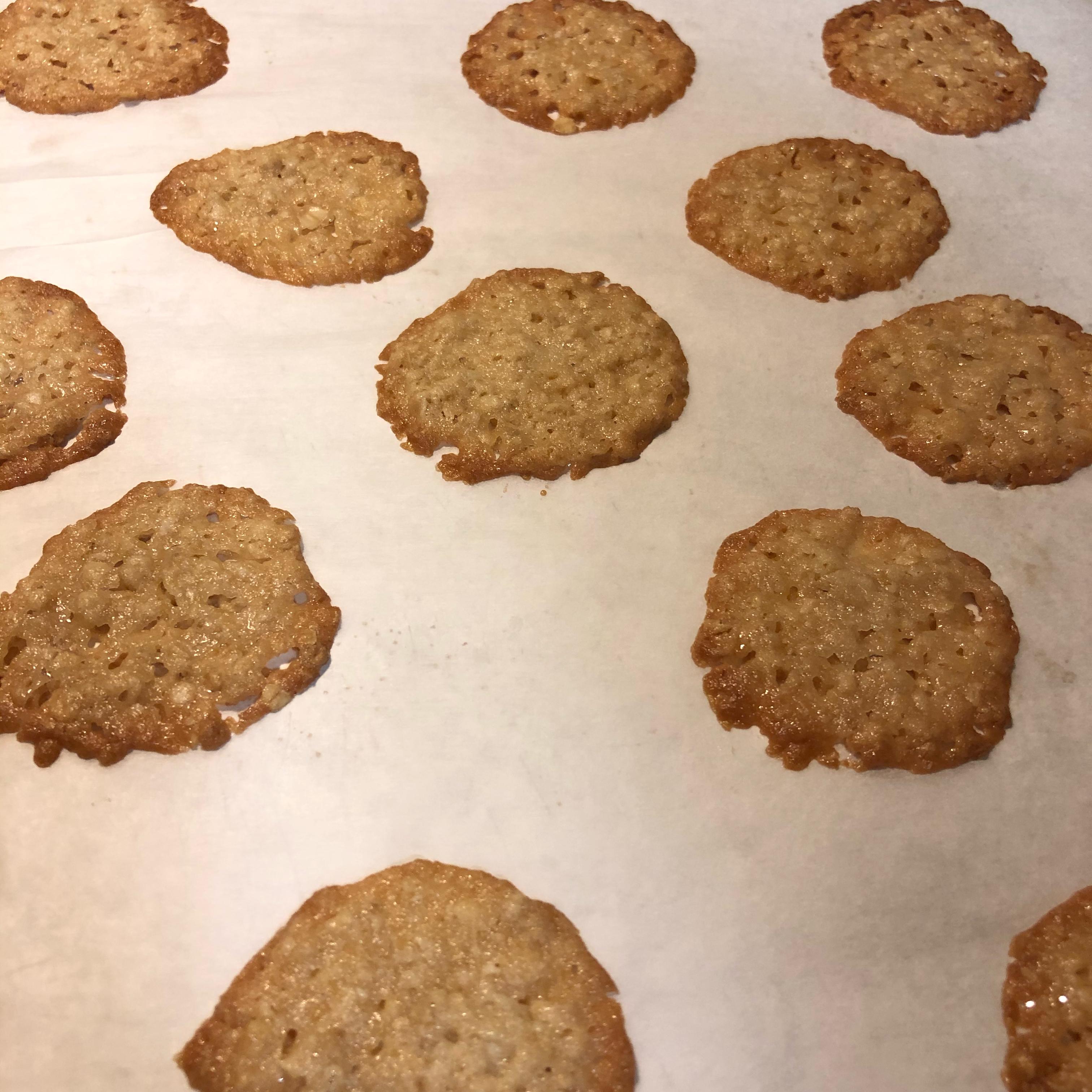 Oatmeal Lace Cookies Ashley
