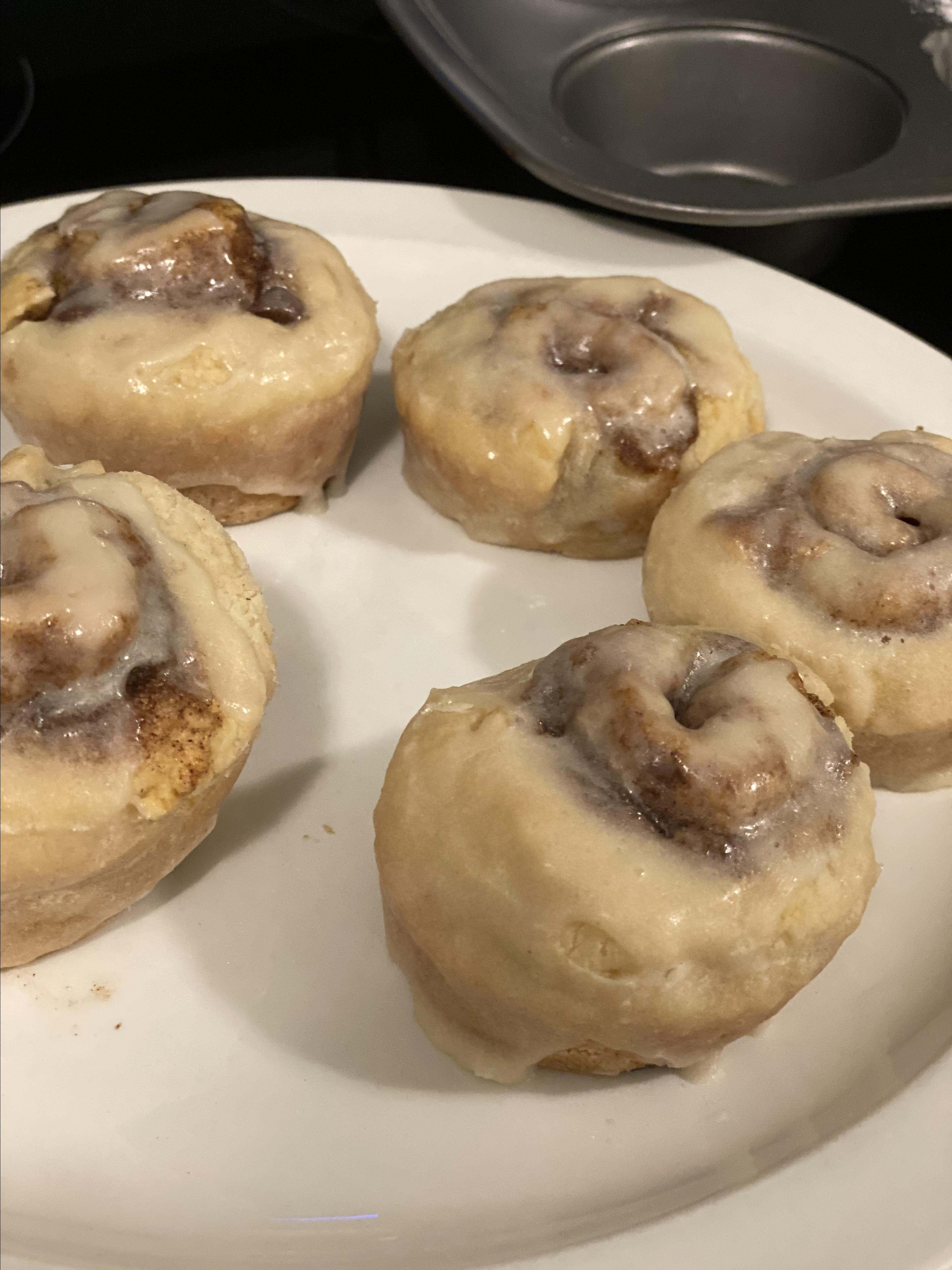 Small Batch Cinnamon Rolls (No Yeast)