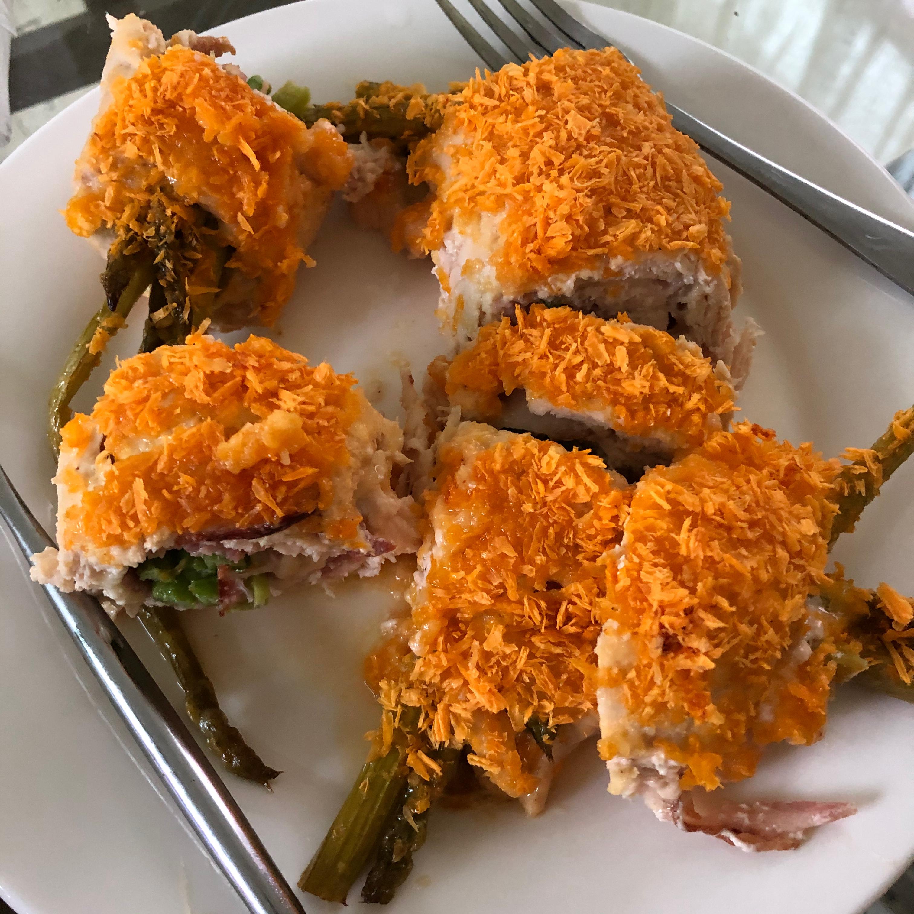 Chicken Asparagus Roll-Ups nick