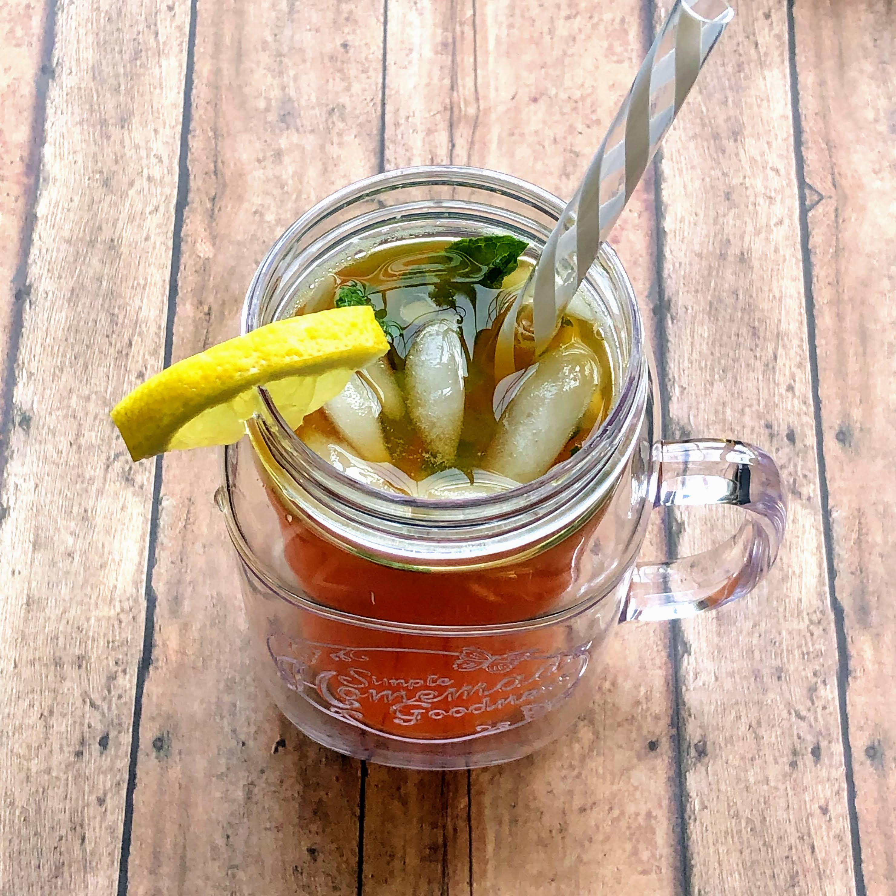 Lemonade-Mint Iced Tea