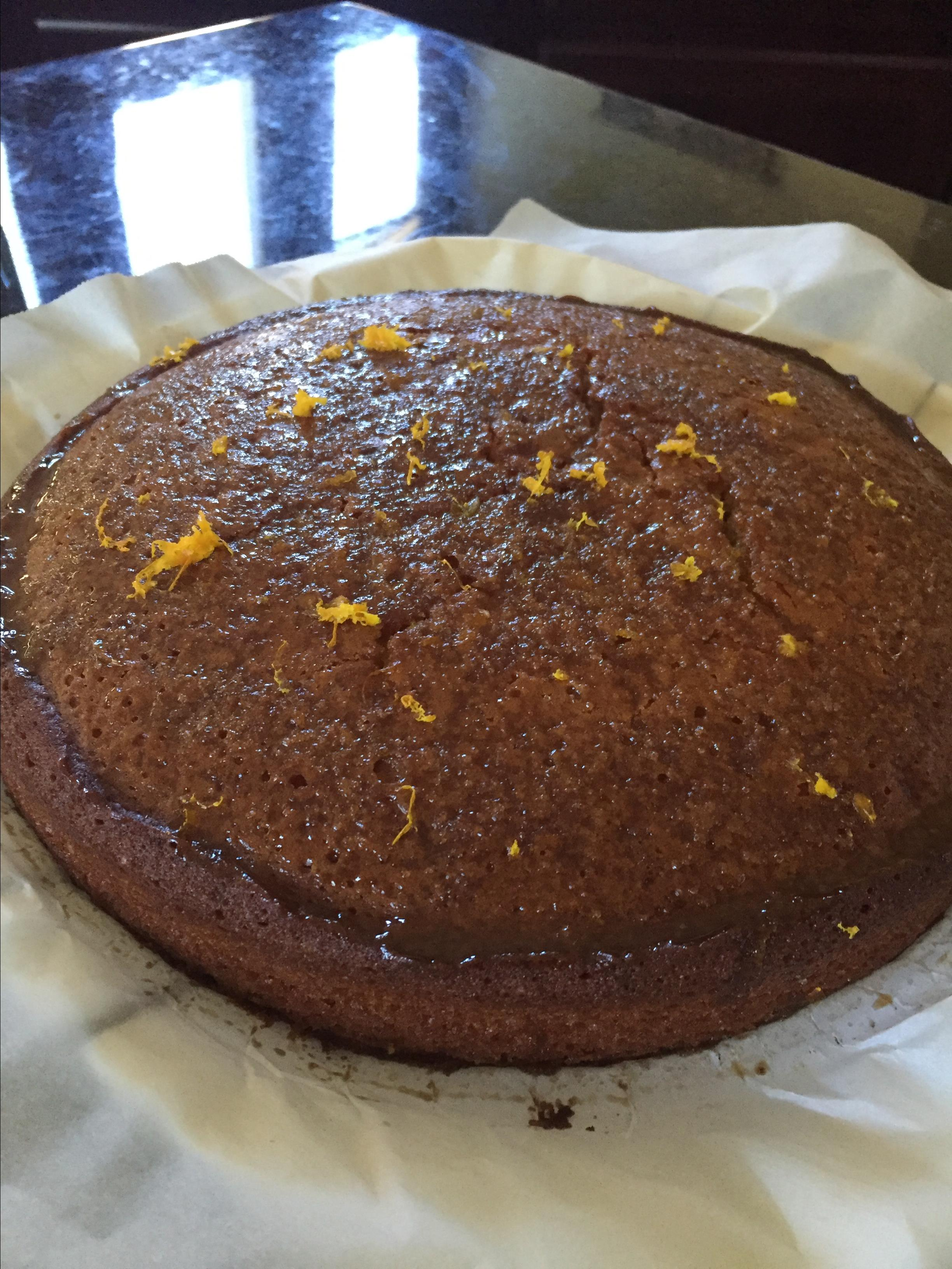 Orange Vegan Cake