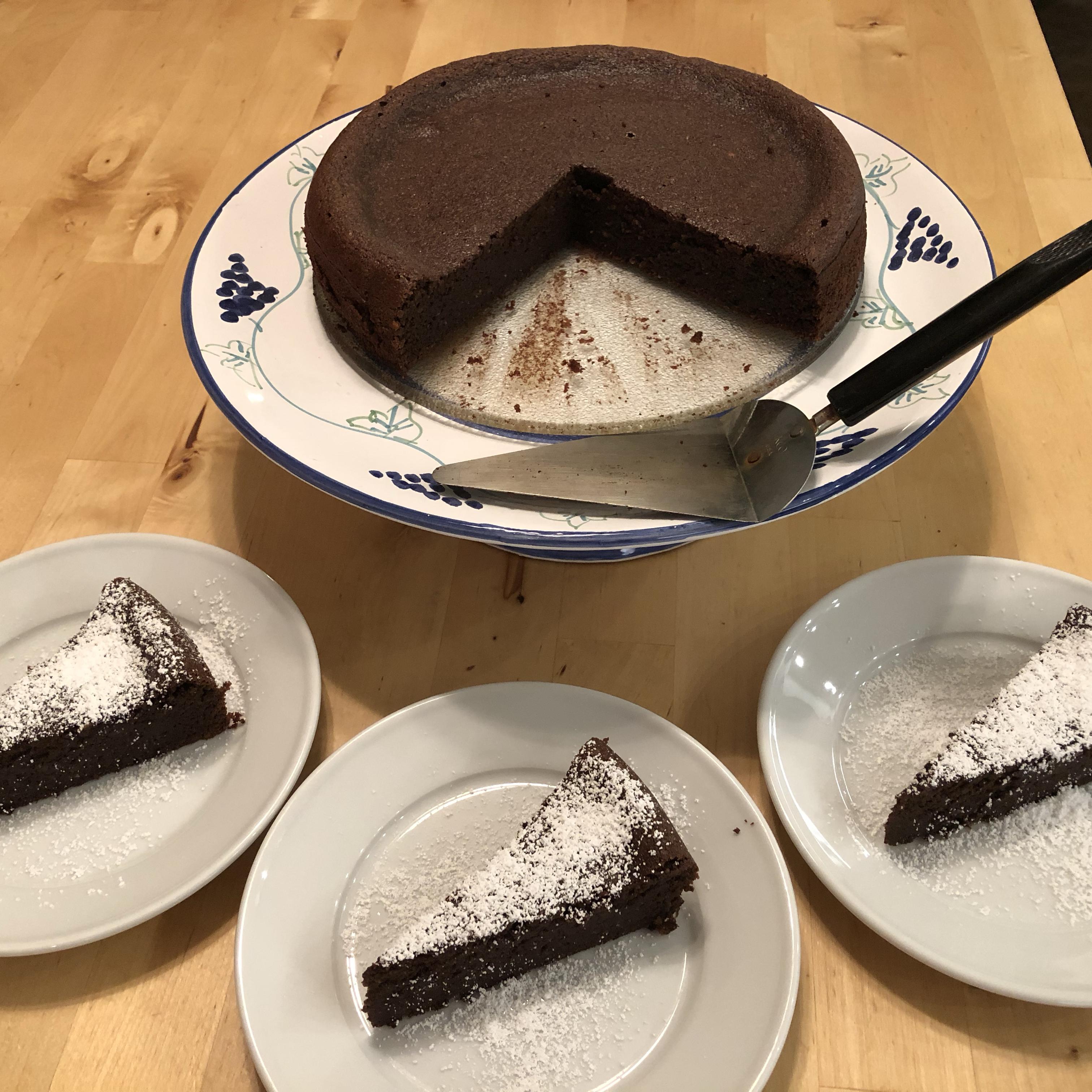 Garbanzo Bean Chocolate Cake (Gluten Free!)