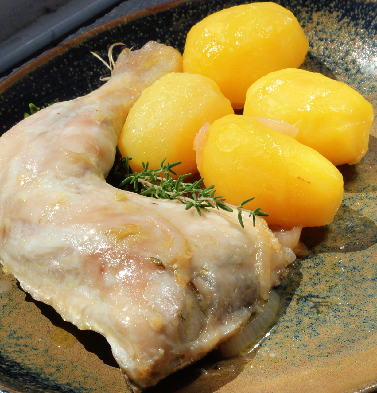 Italian Chicken with Garlic and Lemon