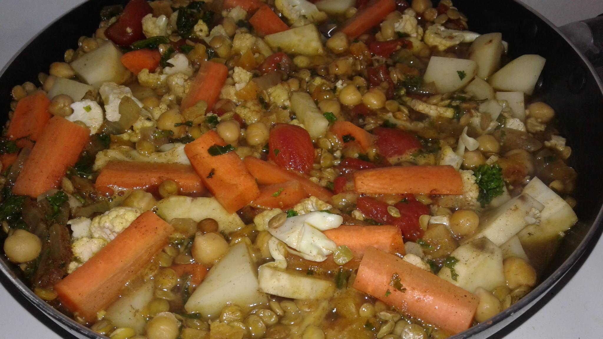 Make-Ahead Vegetarian Moroccan Stew